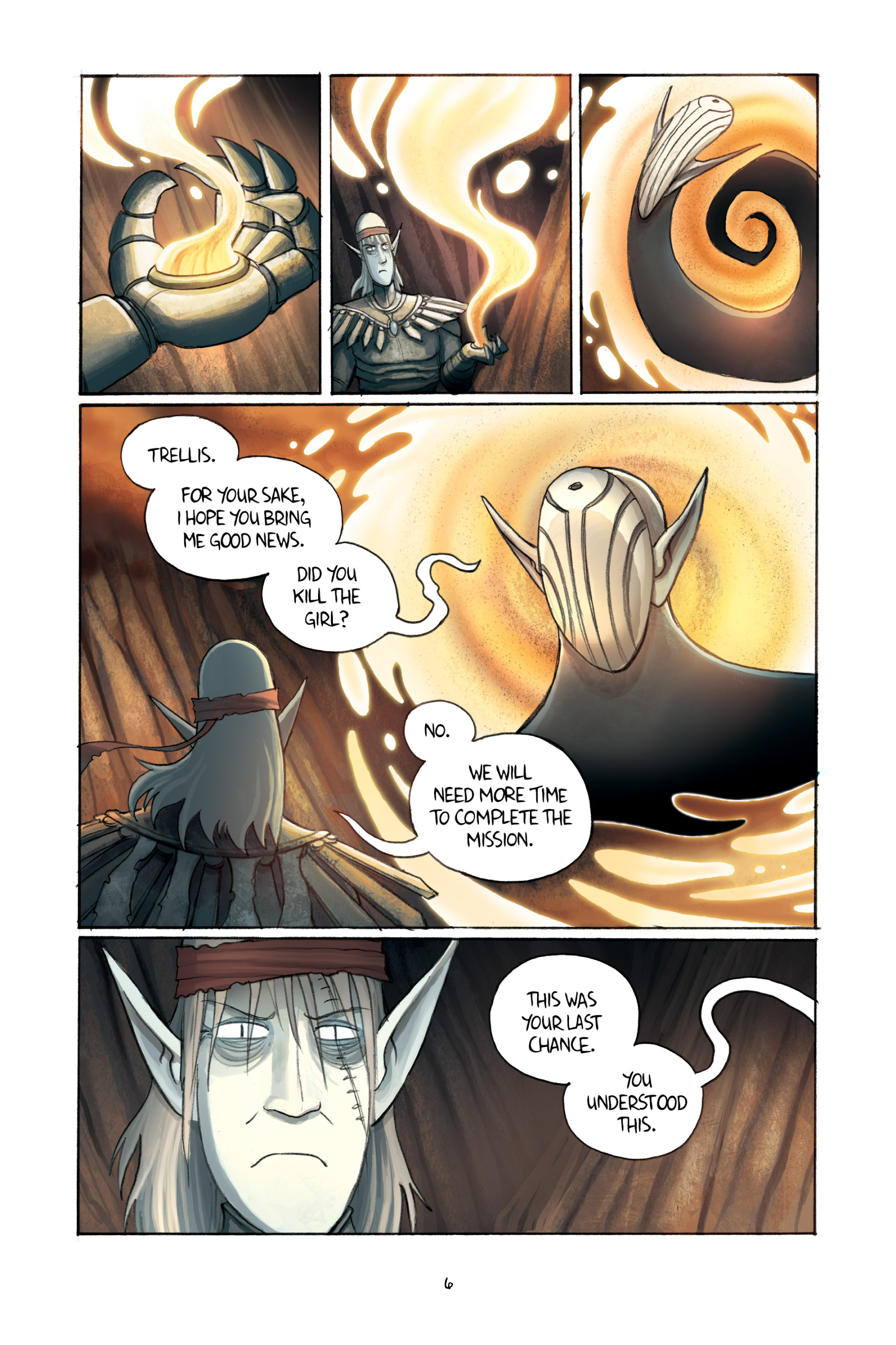Read online Amulet comic -  Issue #3 - 8