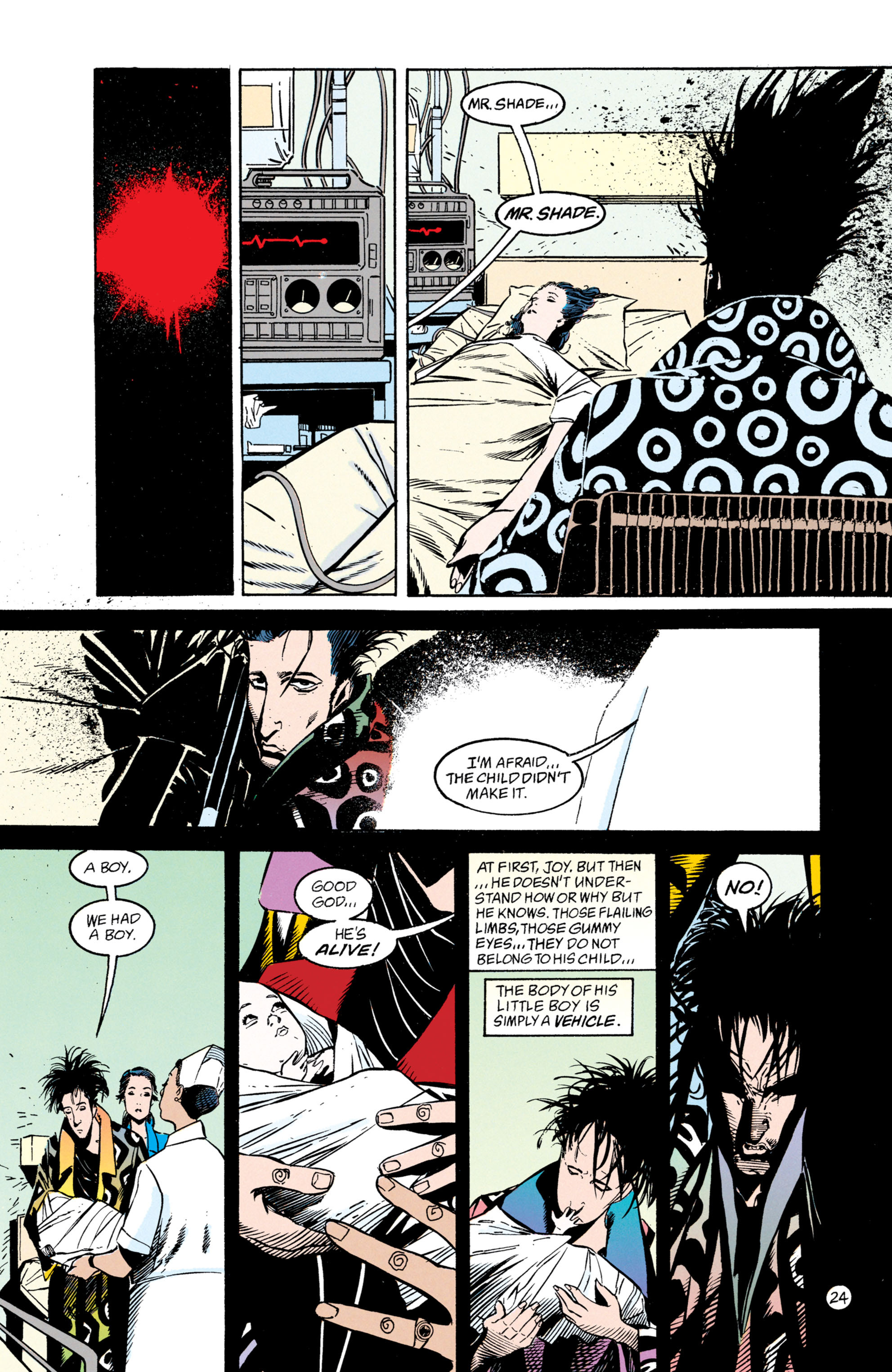 Read online Shade, the Changing Man comic -  Issue #50 - 25