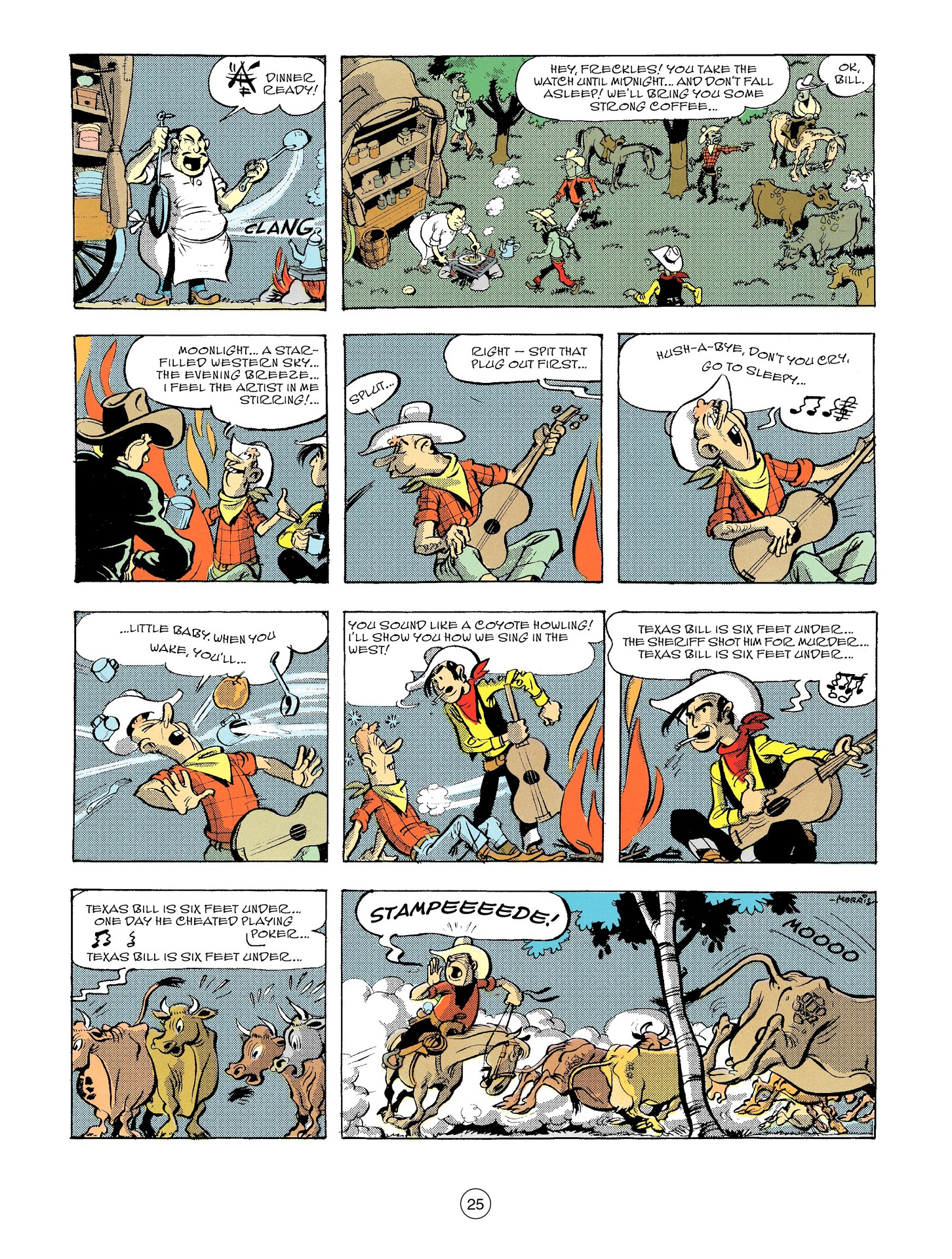 Read online A Lucky Luke Adventure comic -  Issue #56 - 25