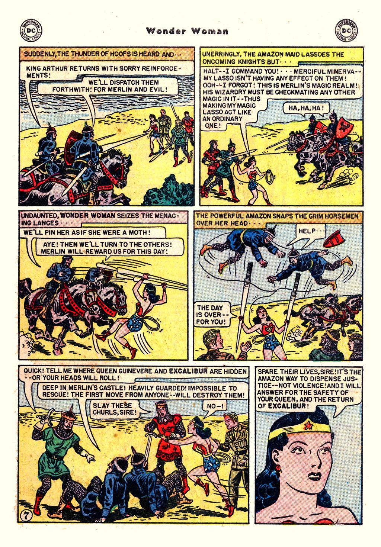 Read online Wonder Woman (1942) comic -  Issue #54 - 9