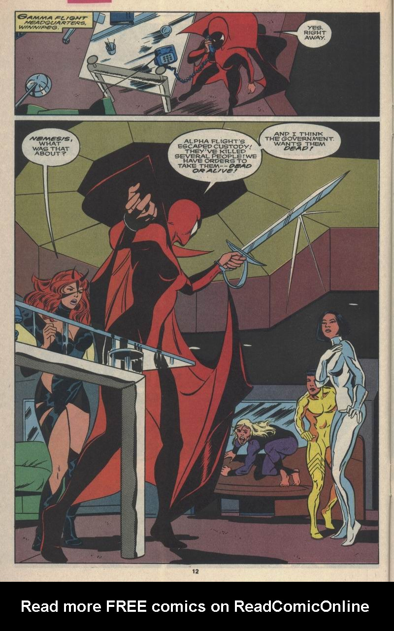 Read online Alpha Flight (1983) comic -  Issue #84 - 10
