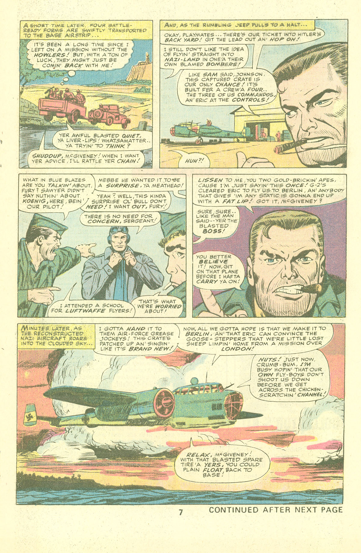 Read online Sgt. Fury comic -  Issue #137 - 9