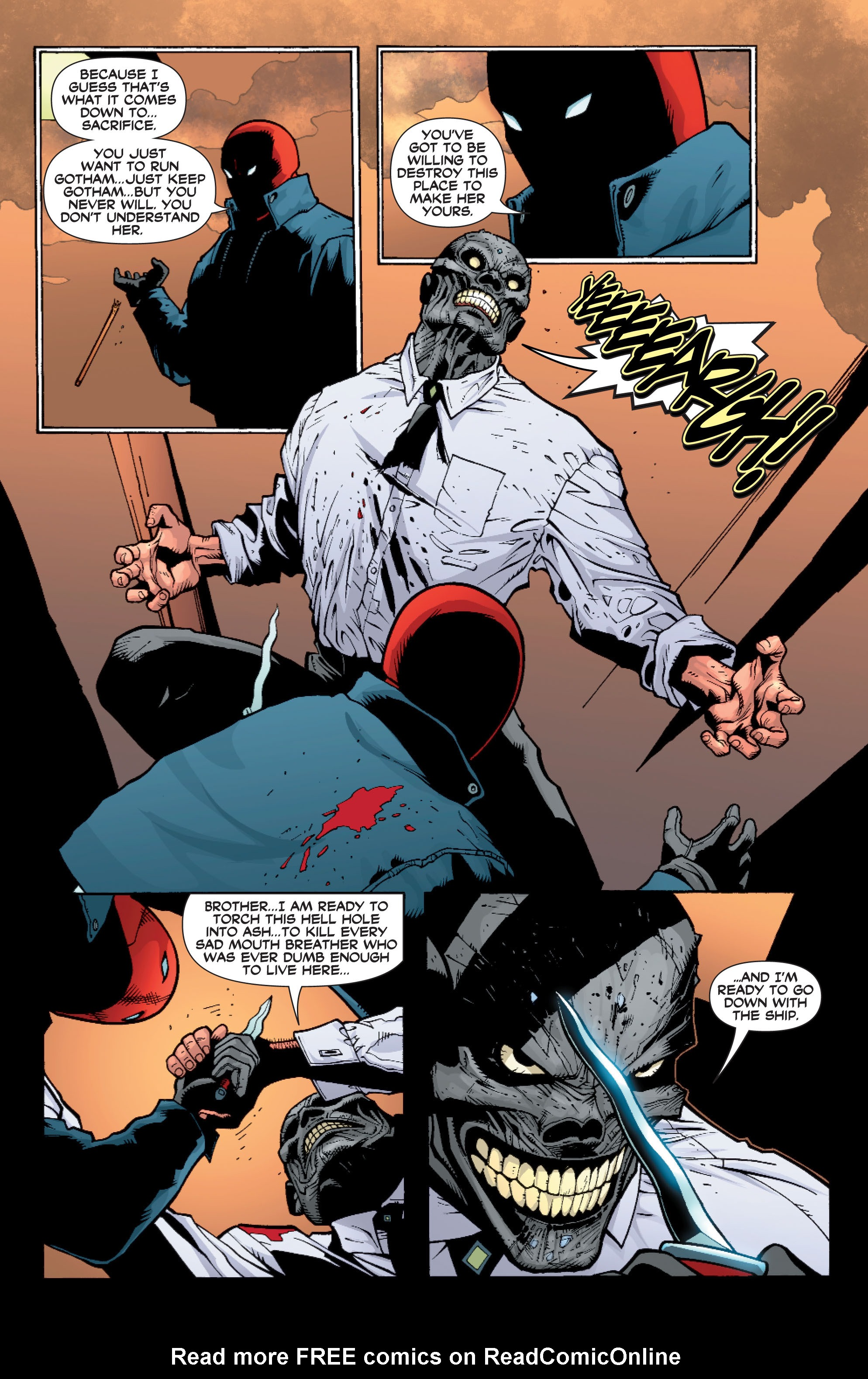 Read online Batman: Under The Red Hood comic -  Issue # Full - 265