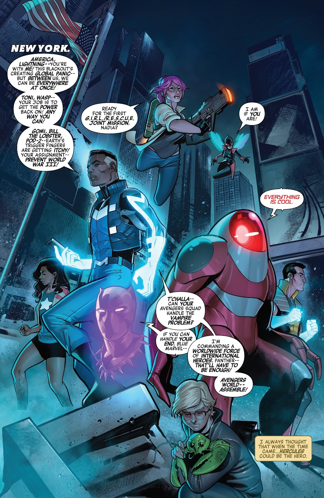 Read online Avengers No Road Home comic -  Issue #9 - 4