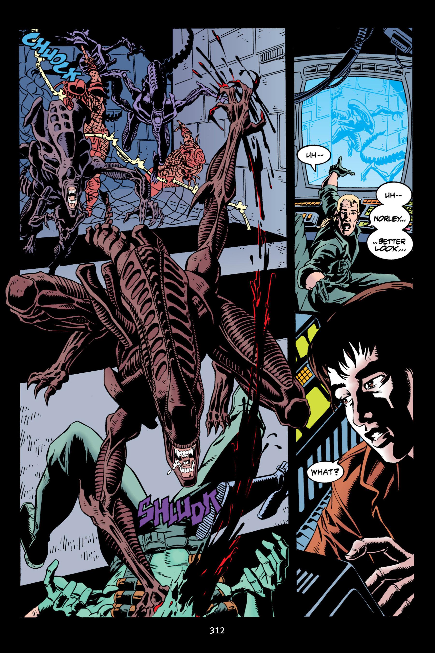Read online Aliens vs. Predator Omnibus comic -  Issue # _TPB 2 Part 3 - 87