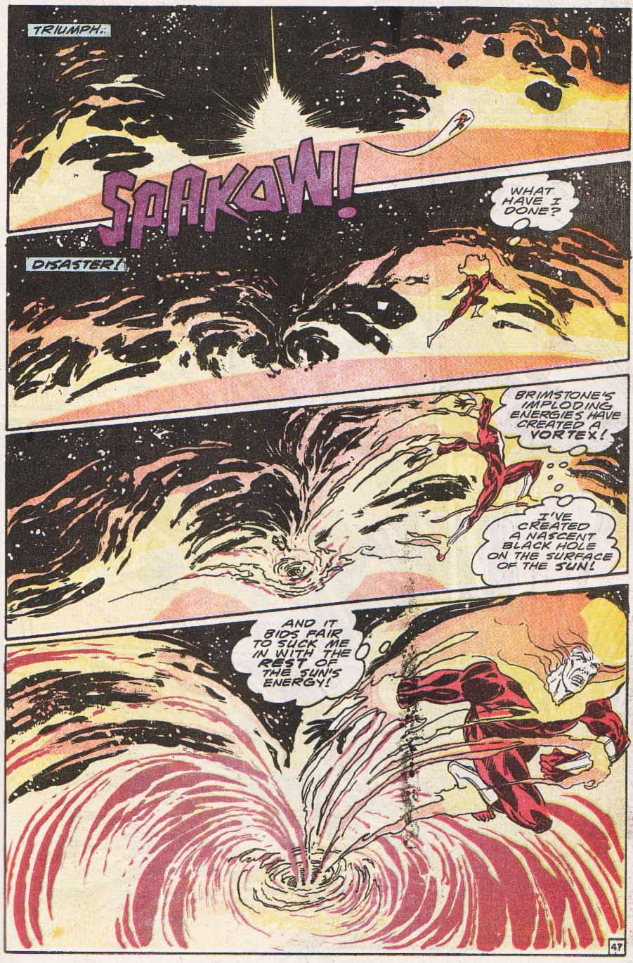 Firestorm, the Nuclear Man Issue #100 #36 - English 46