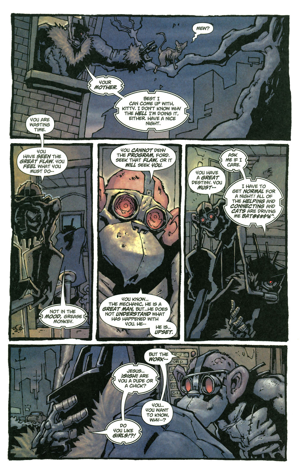 Read online Enginehead comic -  Issue #4 - 6