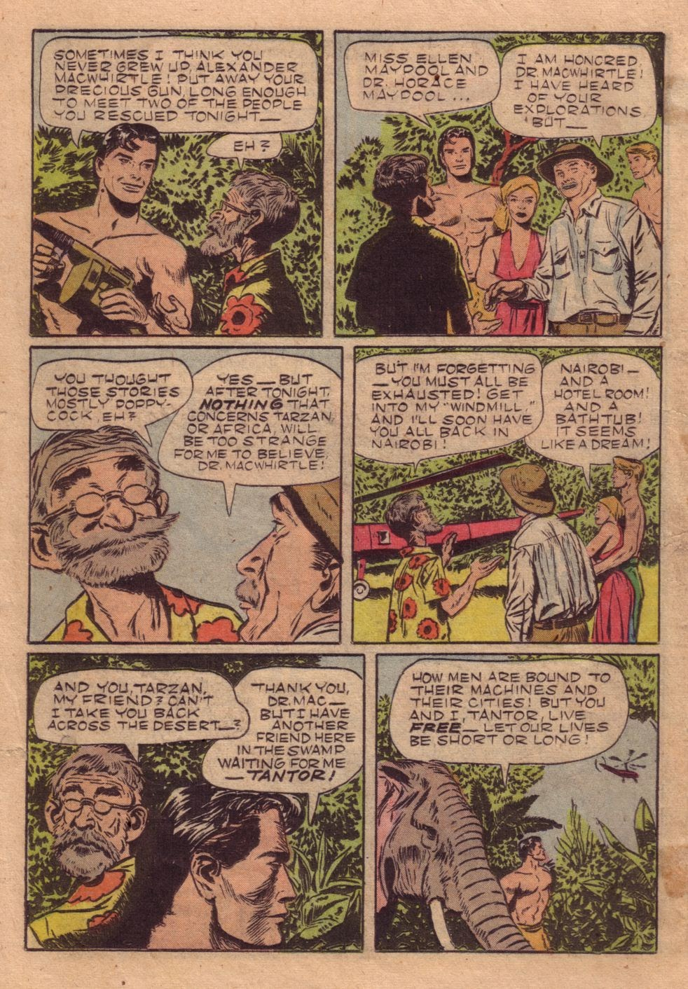 Tarzan (1948) issue 40 - Page 26
