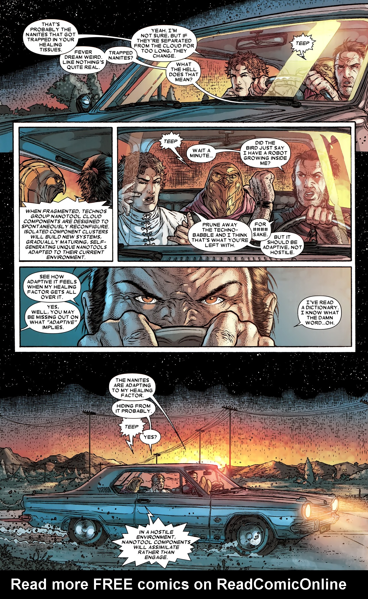 Read online Wolverine: The Best There Is comic -  Issue #10 - 9