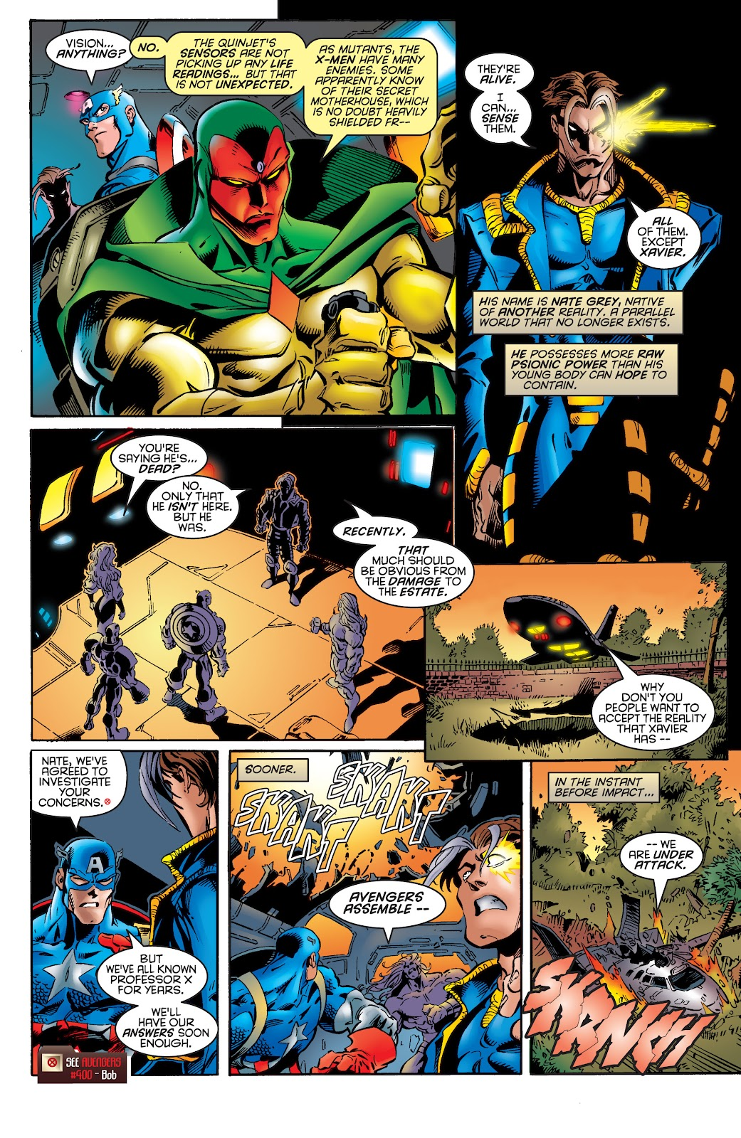 Uncanny X-Men (1963) issue 335 - Page 6