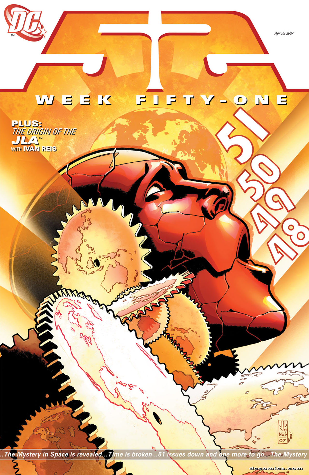Read online 52 comic -  Issue #51 - 1