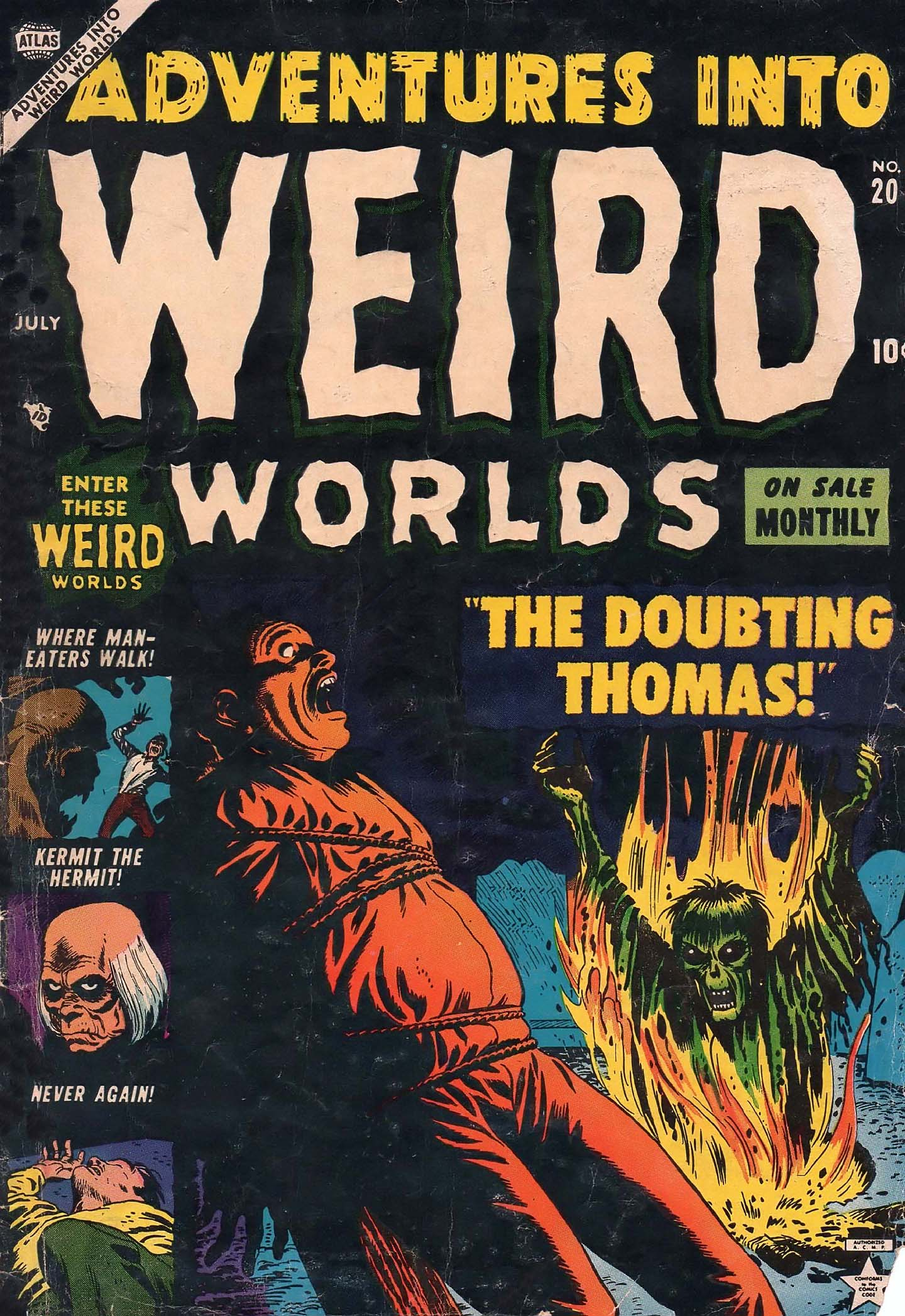 Read online Adventures into Weird Worlds comic -  Issue #20 - 1