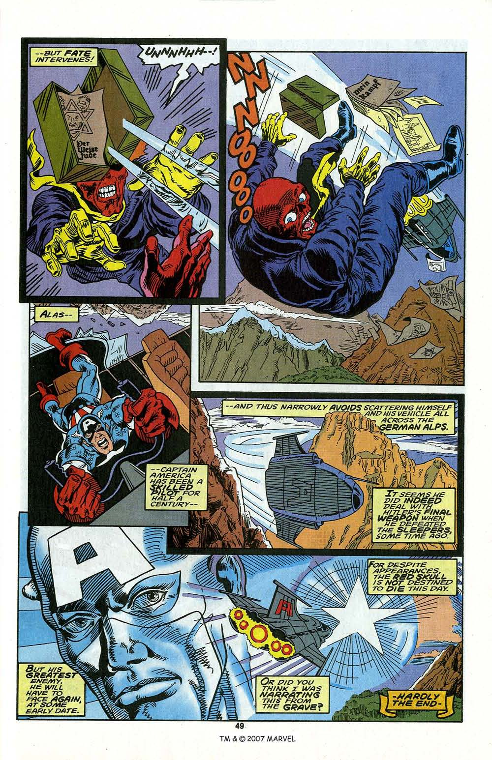 Read online Captain America (1968) comic -  Issue # _Annual 13 - 51