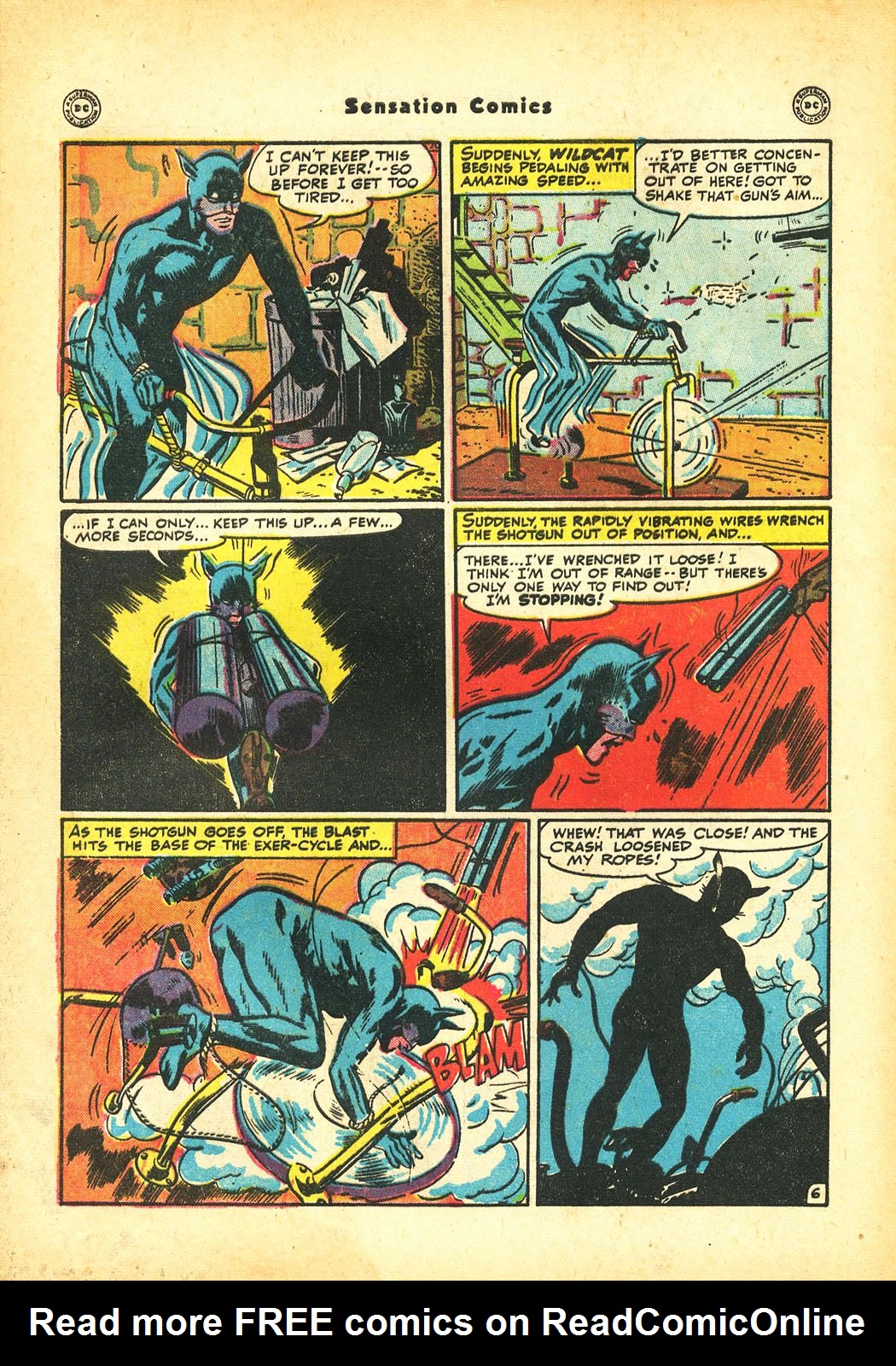 Read online Sensation (Mystery) Comics comic -  Issue #86 - 48