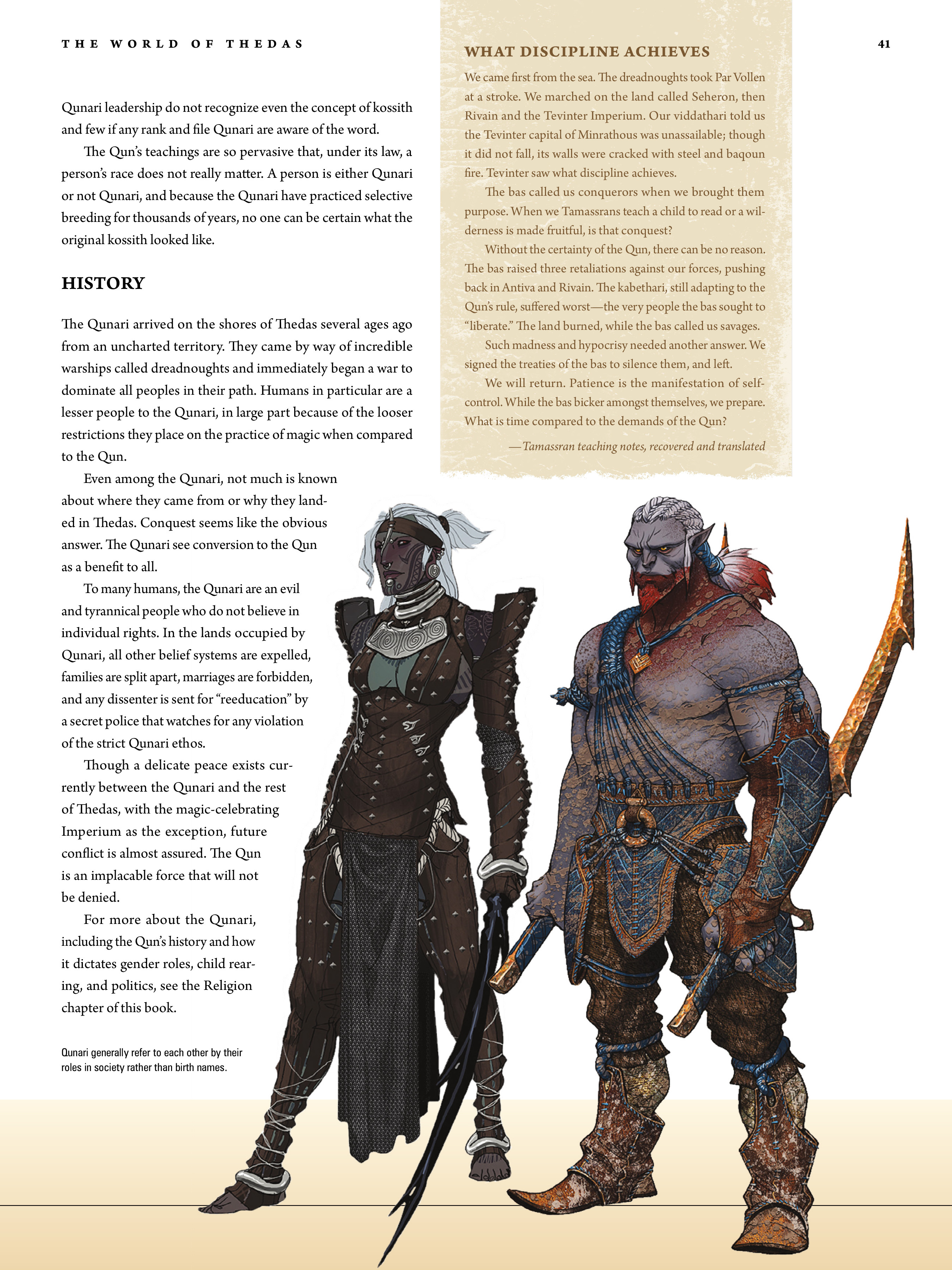 Read online Dragon Age: The World of Thedas comic -  Issue # TPB 1 - 33