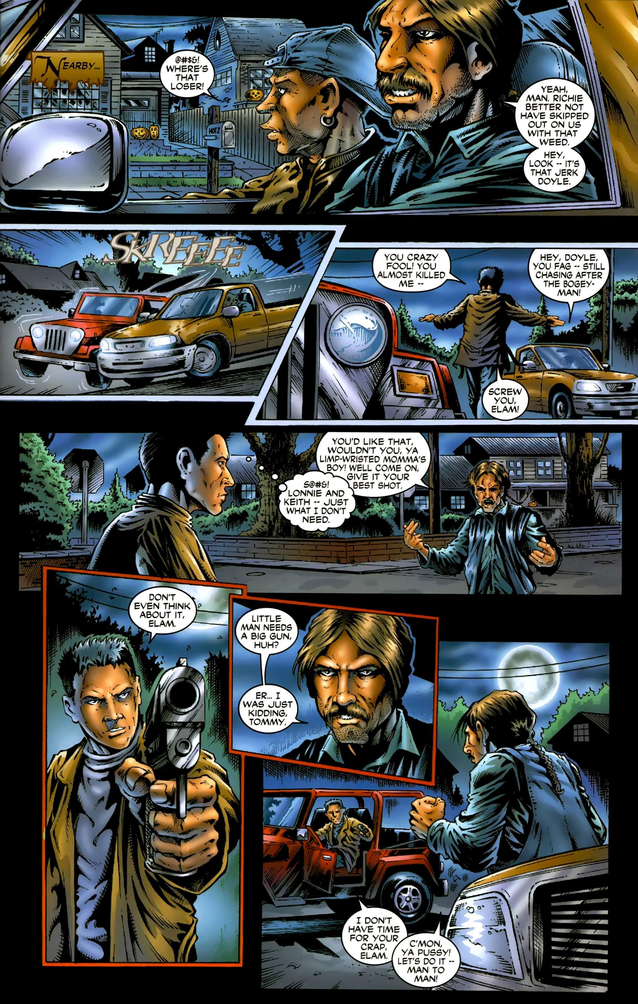 Read online Halloween II: The Blackest Eyes comic -  Issue # Full - 7
