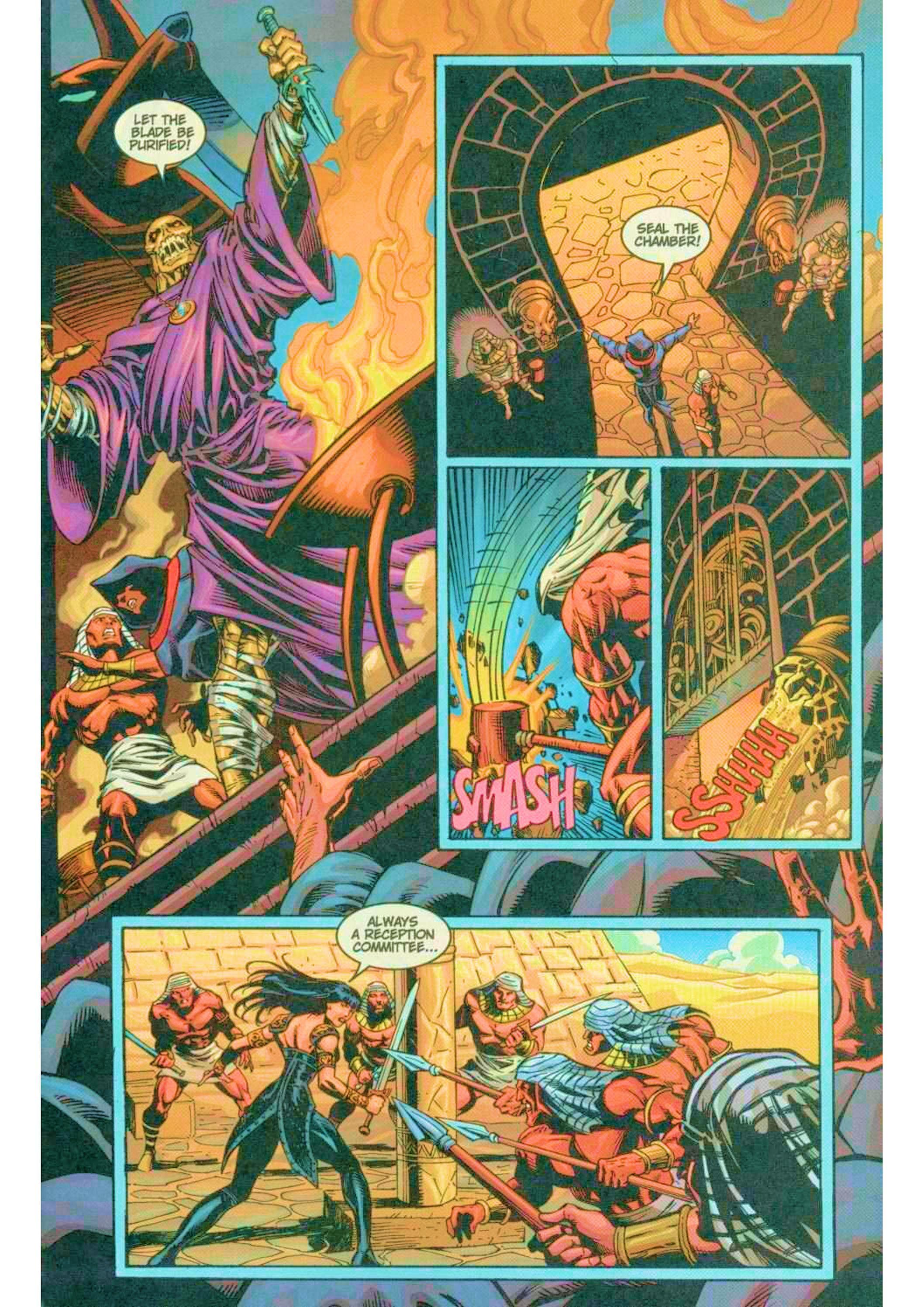 Read online Xena: Warrior Princess (1999) comic -  Issue #6 - 11