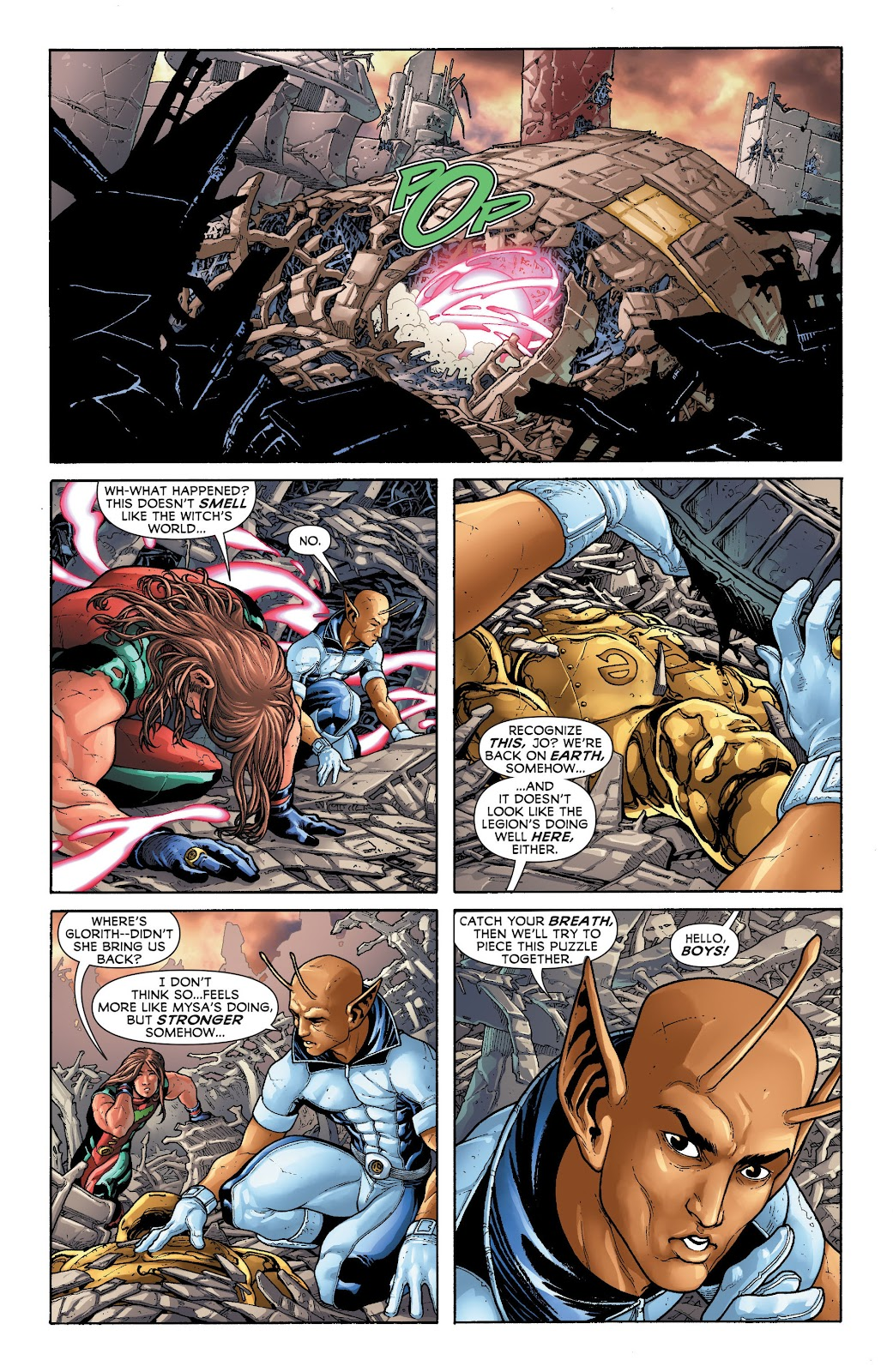 Legion of Super-Heroes (2011) Issue #20 #21 - English 20