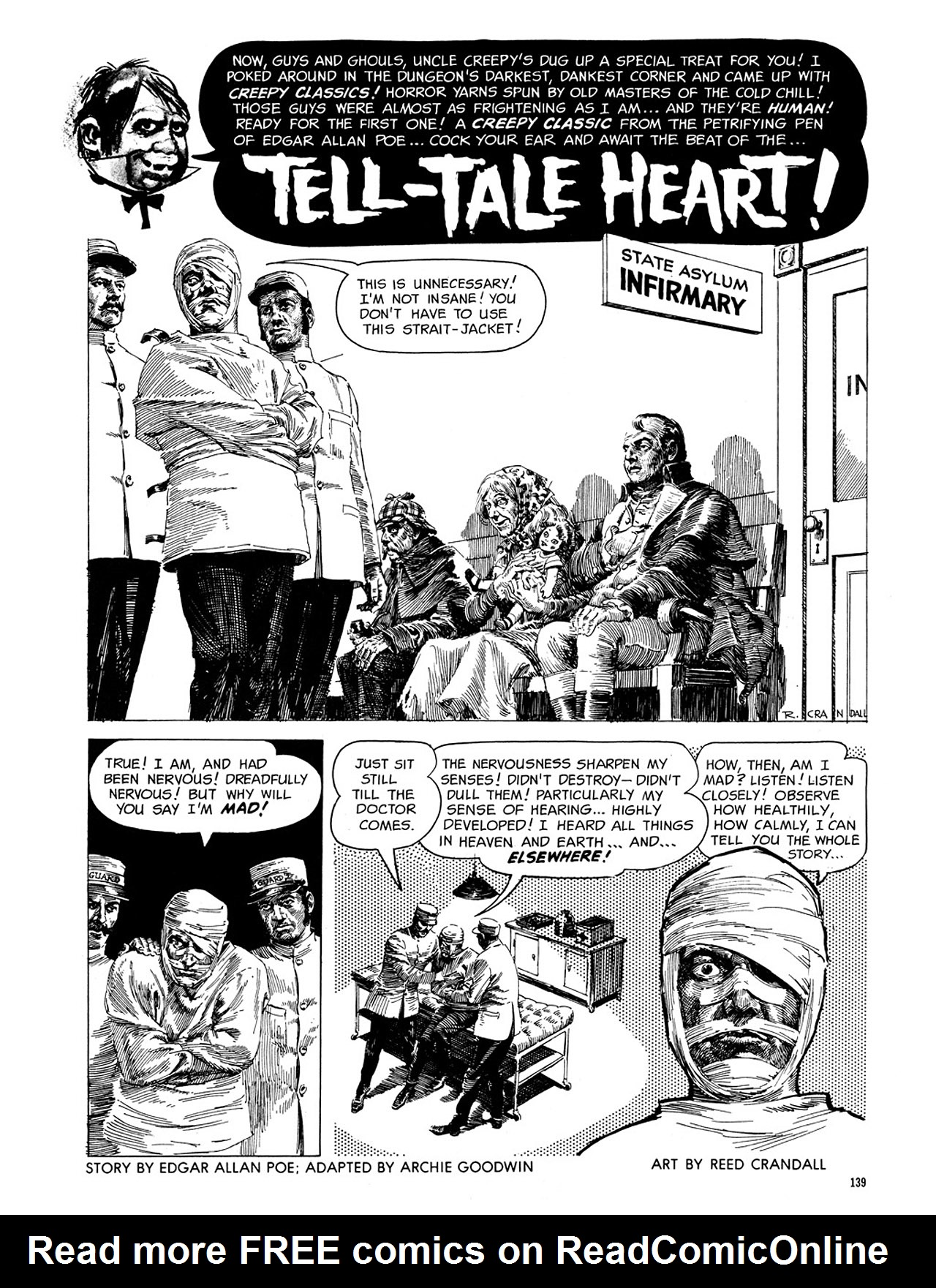 Read online Eerie Archives comic -  Issue # TPB 3 - 140