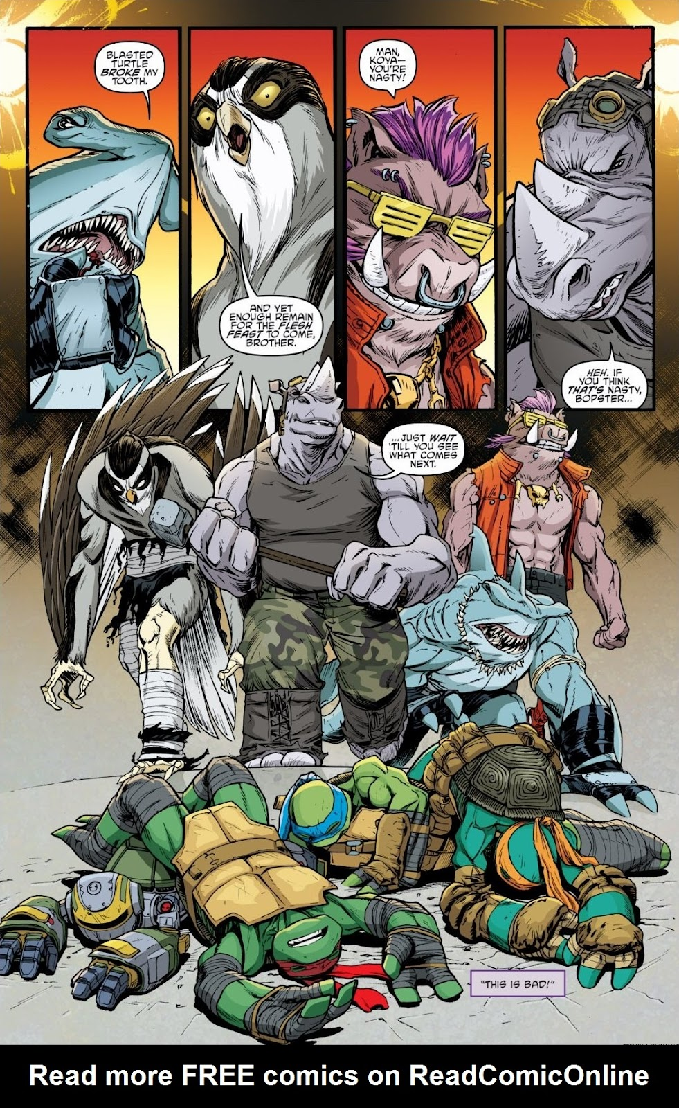Read online Teenage Mutant Ninja Turtles: The IDW Collection comic -  Issue # TPB 6 (Part 3) - 35