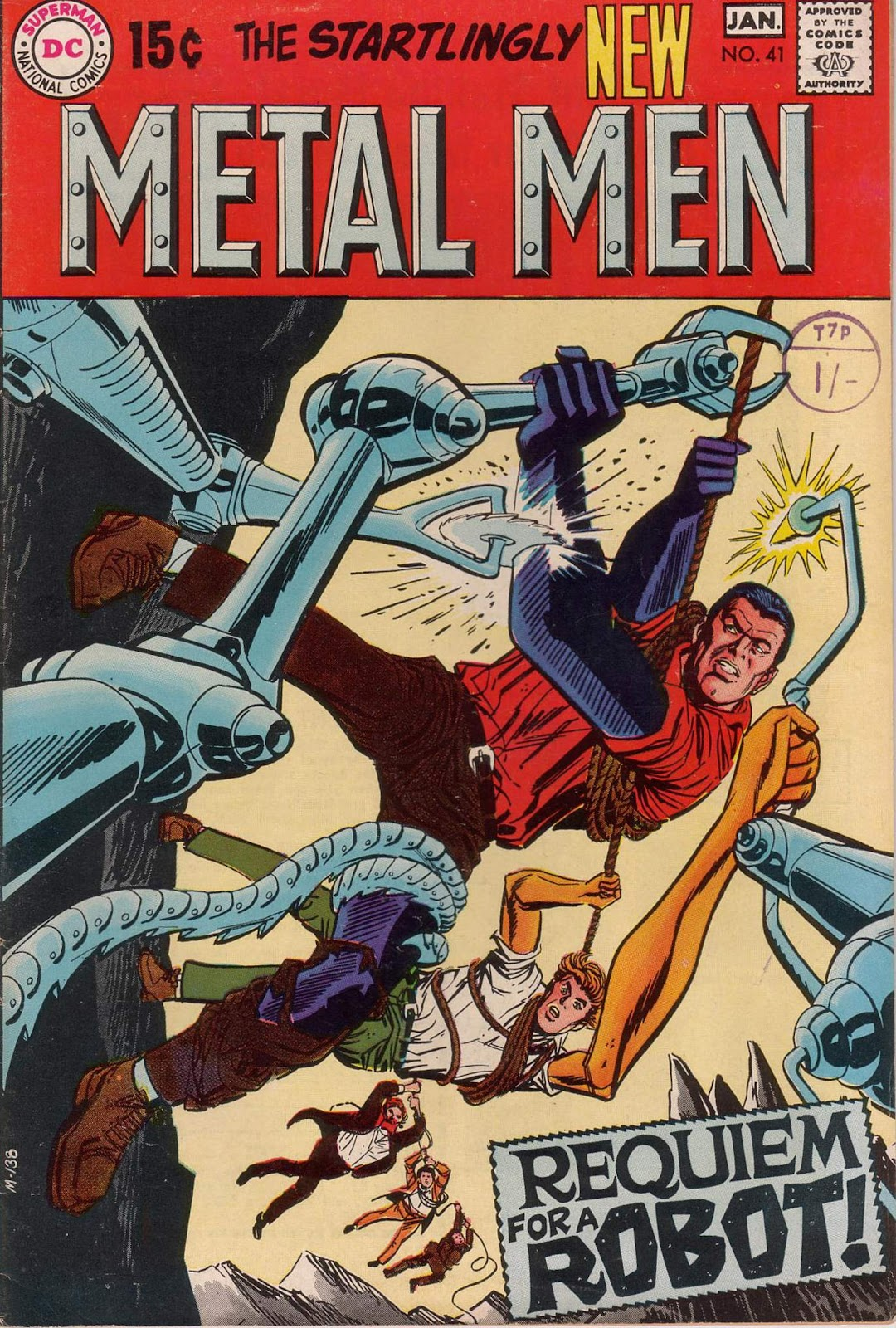 Metal Men (1963) issue 41 - Page 1