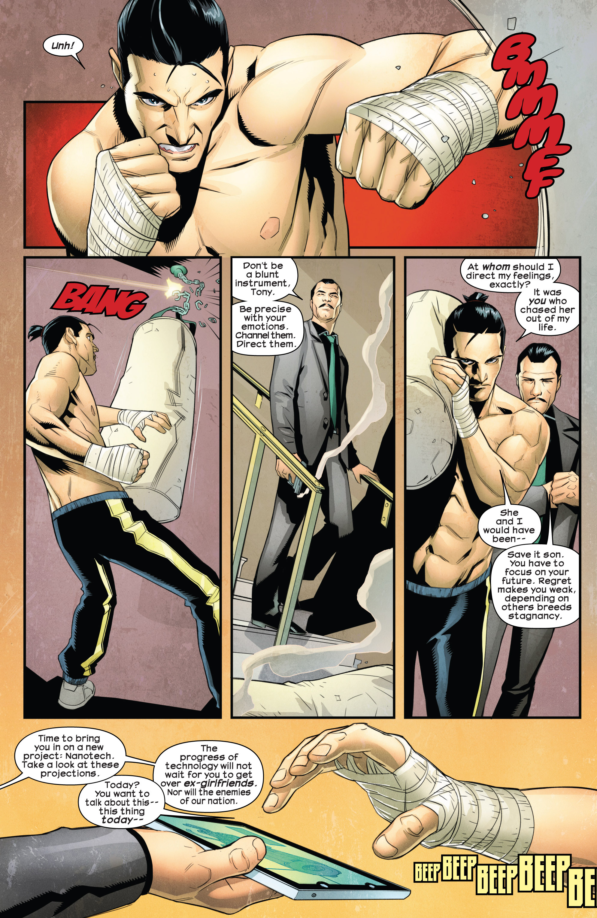 Read online Ultimate Comics Iron Man comic -  Issue #1 - 16
