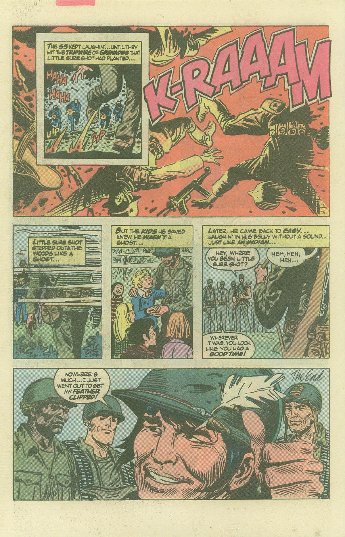 Read online Sgt. Rock comic -  Issue #382 - 31
