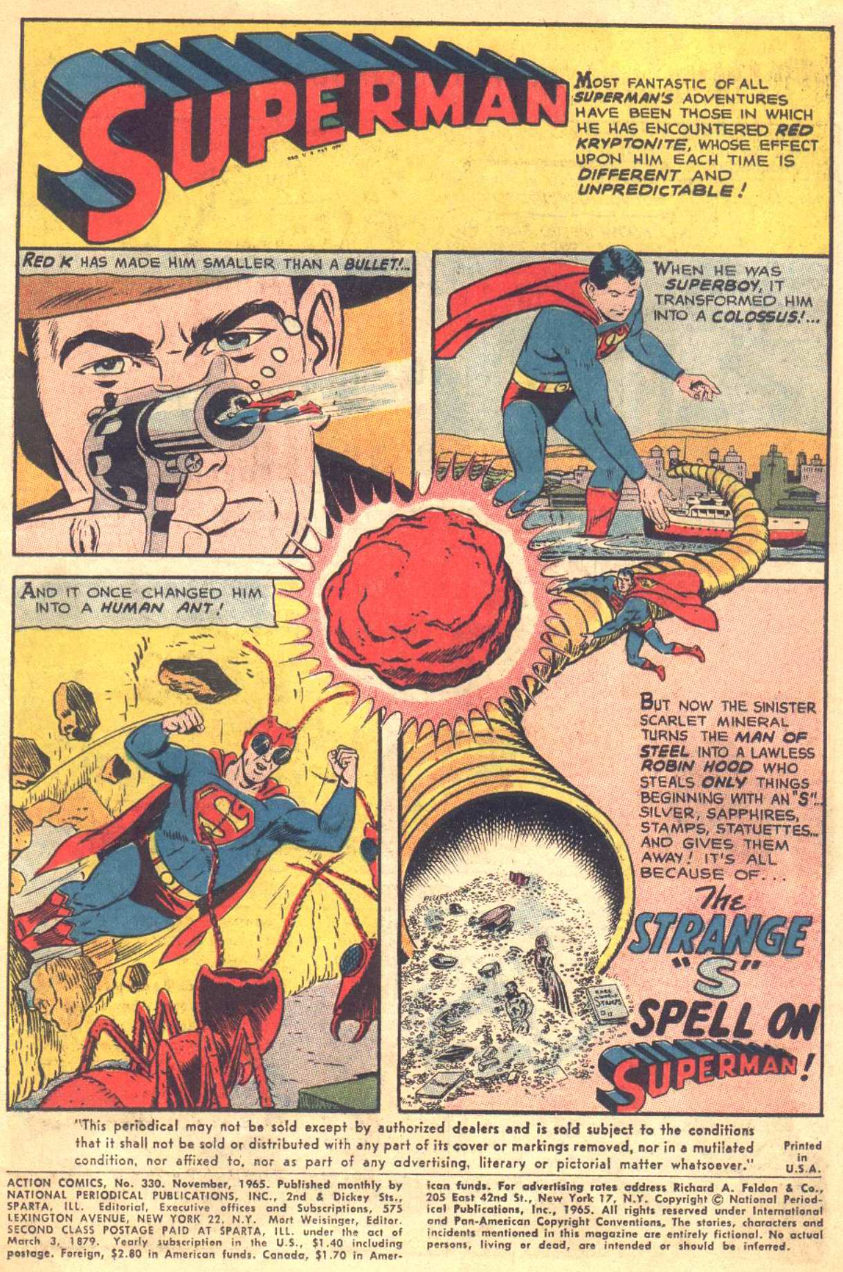 Read online Action Comics (1938) comic -  Issue #330 - 3