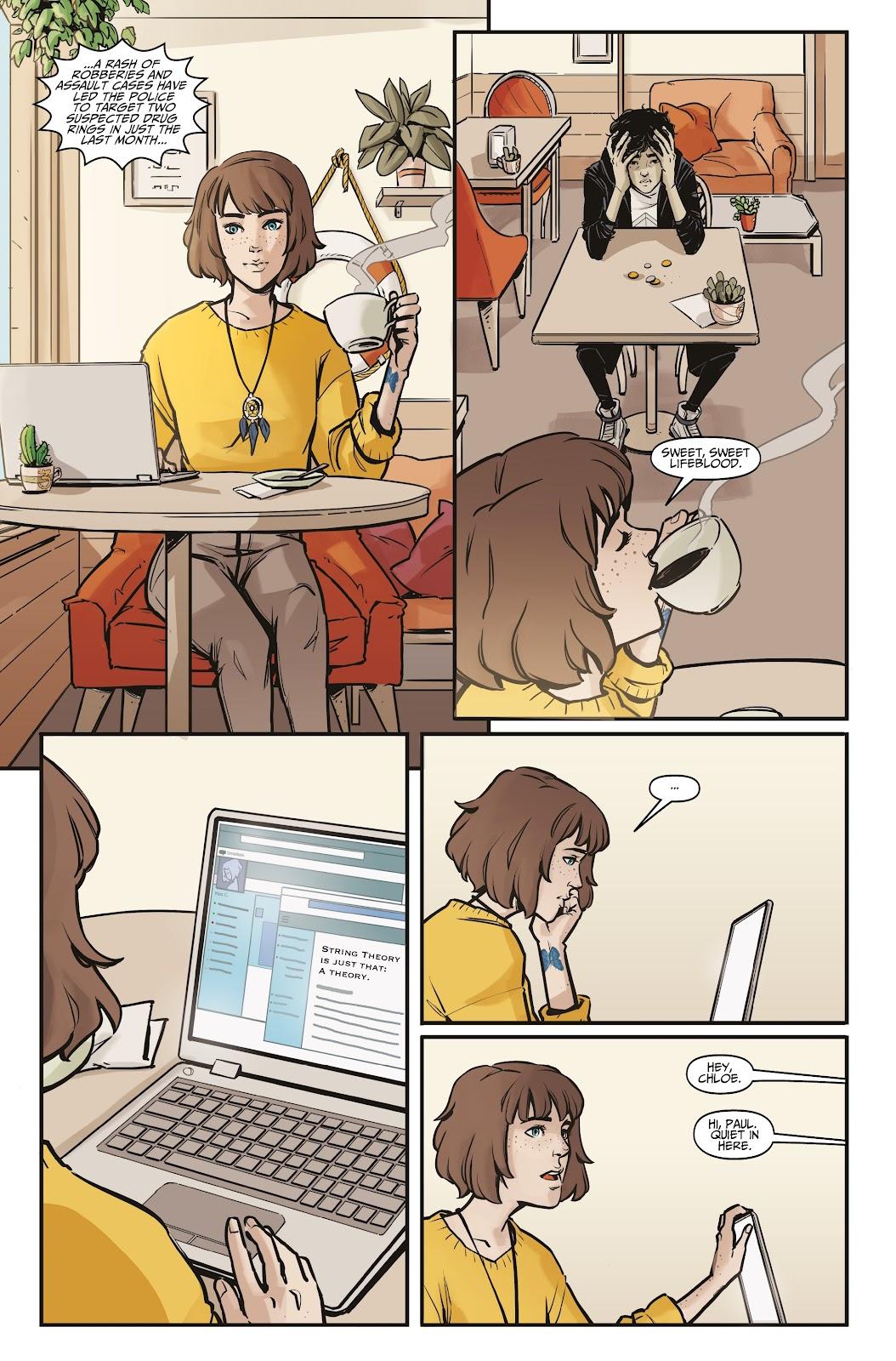 Read online Life is Strange comic -  Issue #5 - 8