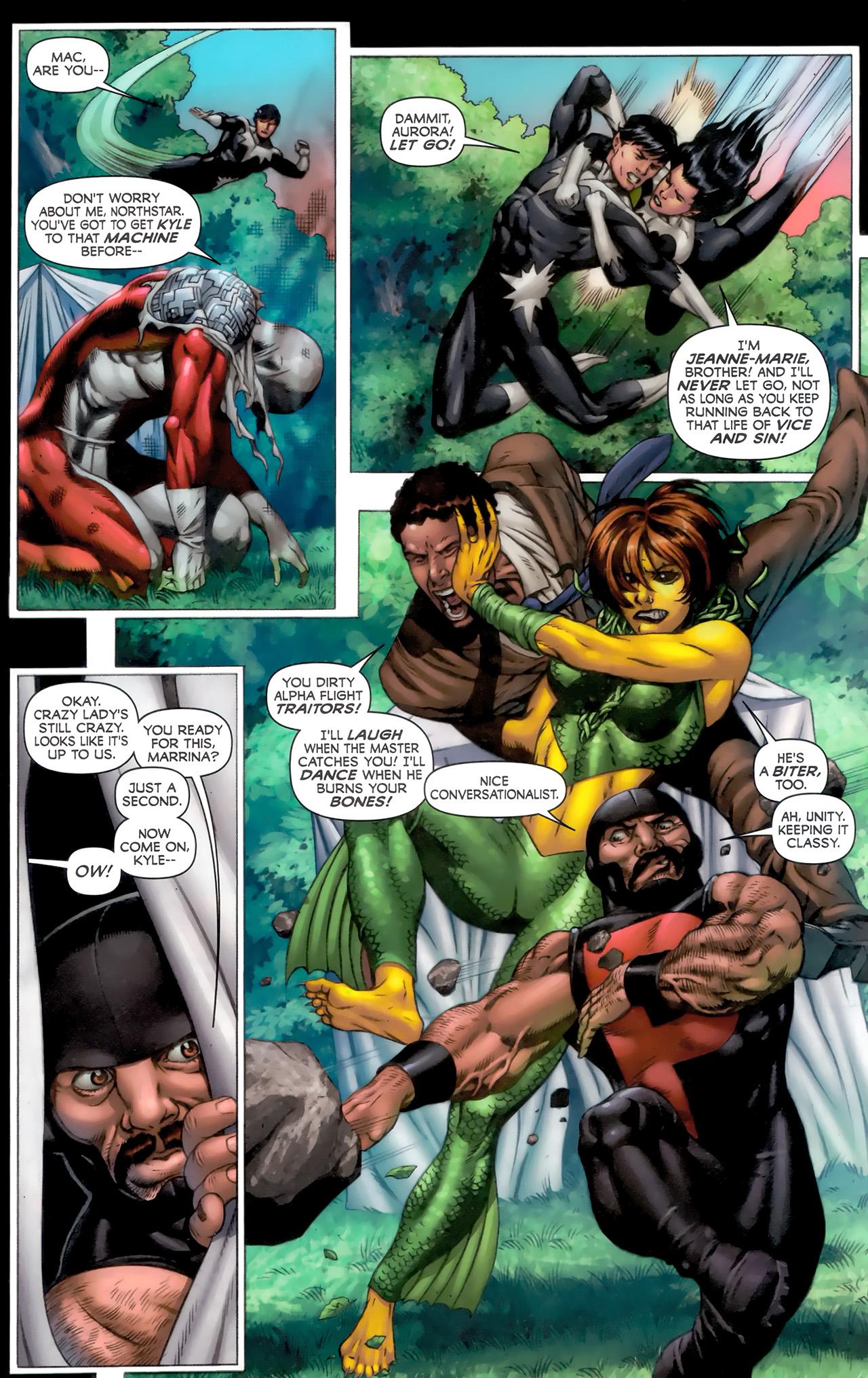 Read online Alpha Flight (2011) comic -  Issue #8 - 8