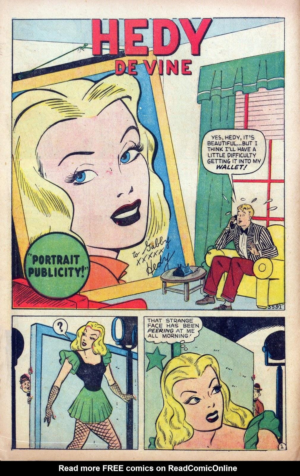 Hedy De Vine Comics issue 31 - Page 12