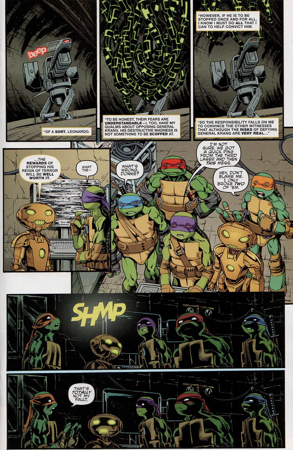 Read online Free Comic Book Day 2017 comic -  Issue # Teenage Mutant Ninja Turtles - 13