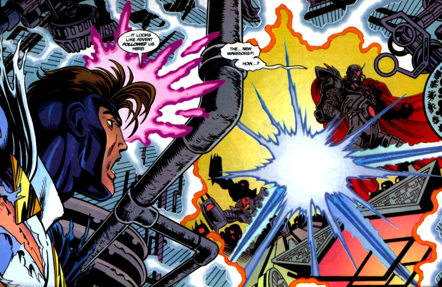 The New Warriors Issue #71 #75 - English 3