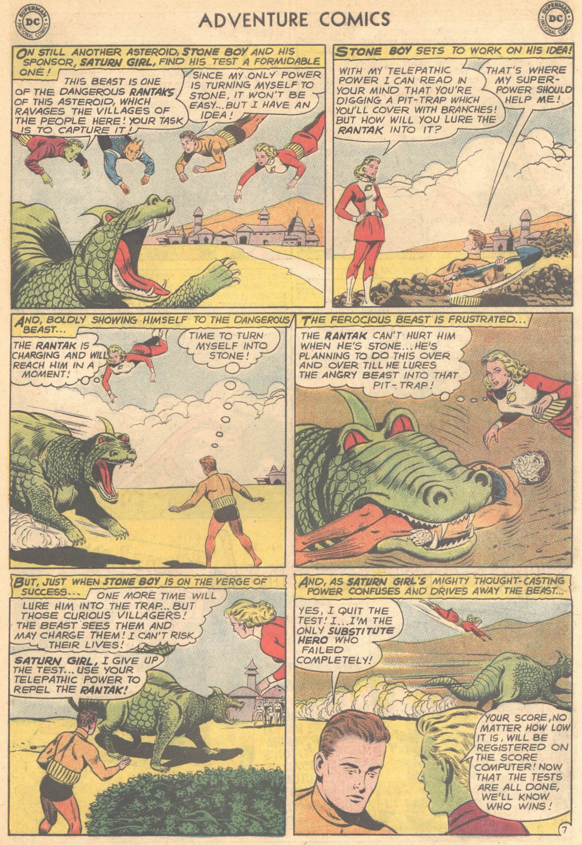 Read online Adventure Comics (1938) comic -  Issue #501 - 96