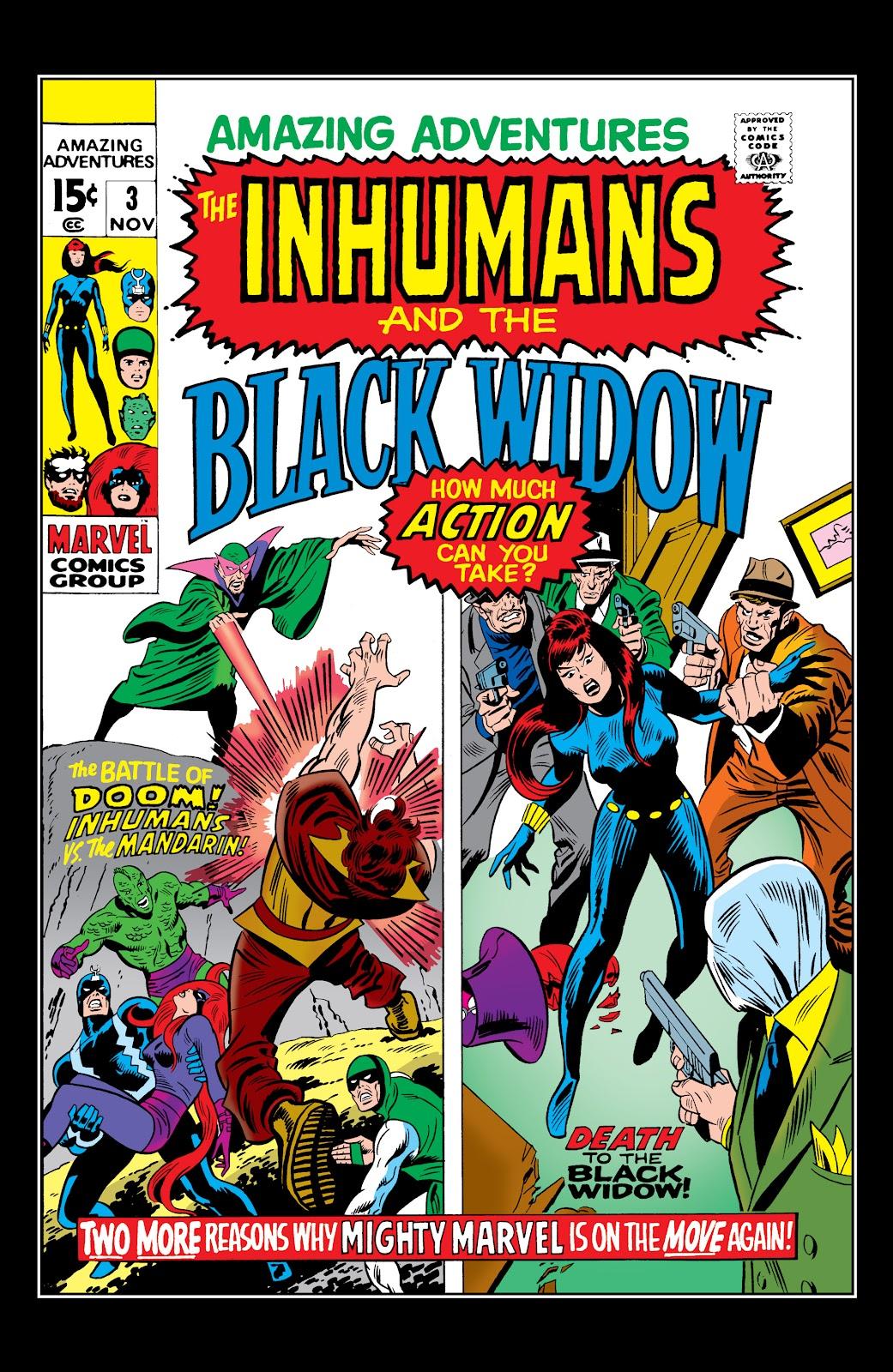 Read online Marvel Masterworks: The Inhumans comic -  Issue # TPB 1 (Part 1) - 91