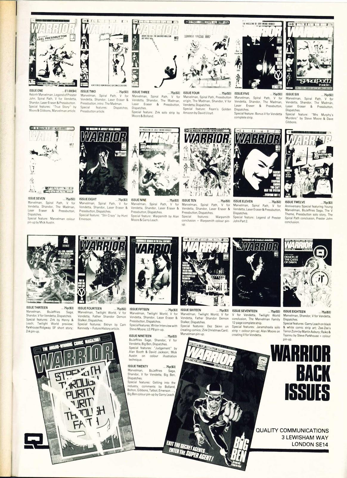 Warrior Issue #24 #25 - English 51