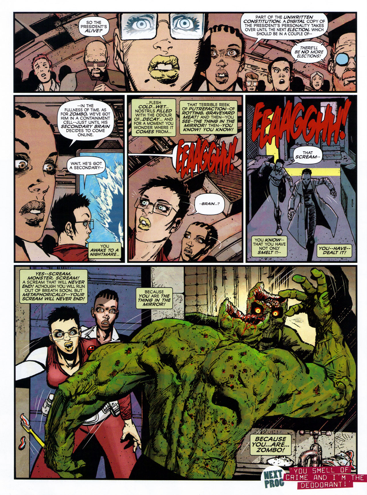 Read online 2000 AD comic -  Issue #1746 - 115