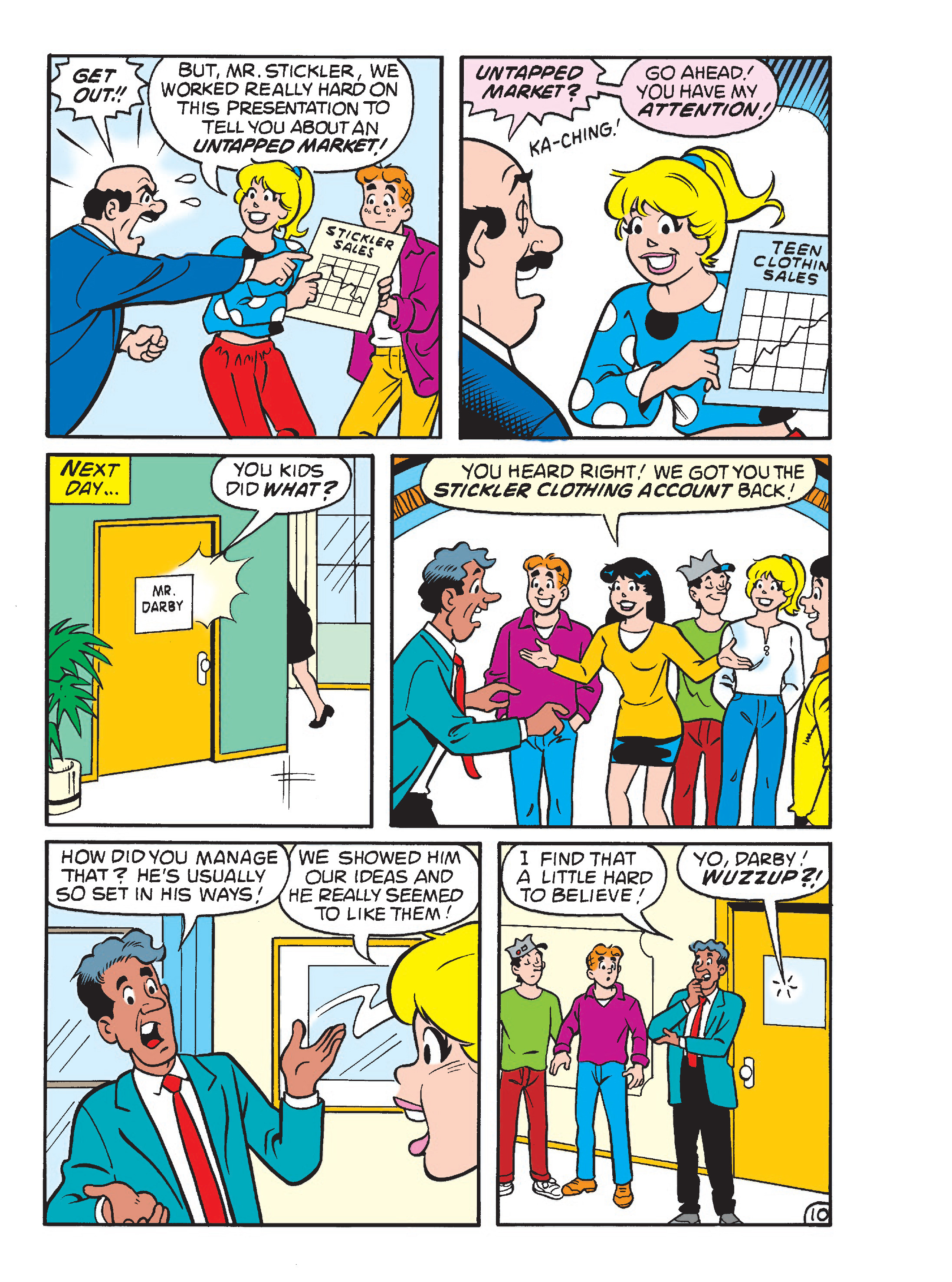 Read online Archie's Funhouse Double Digest comic -  Issue #23 - 102