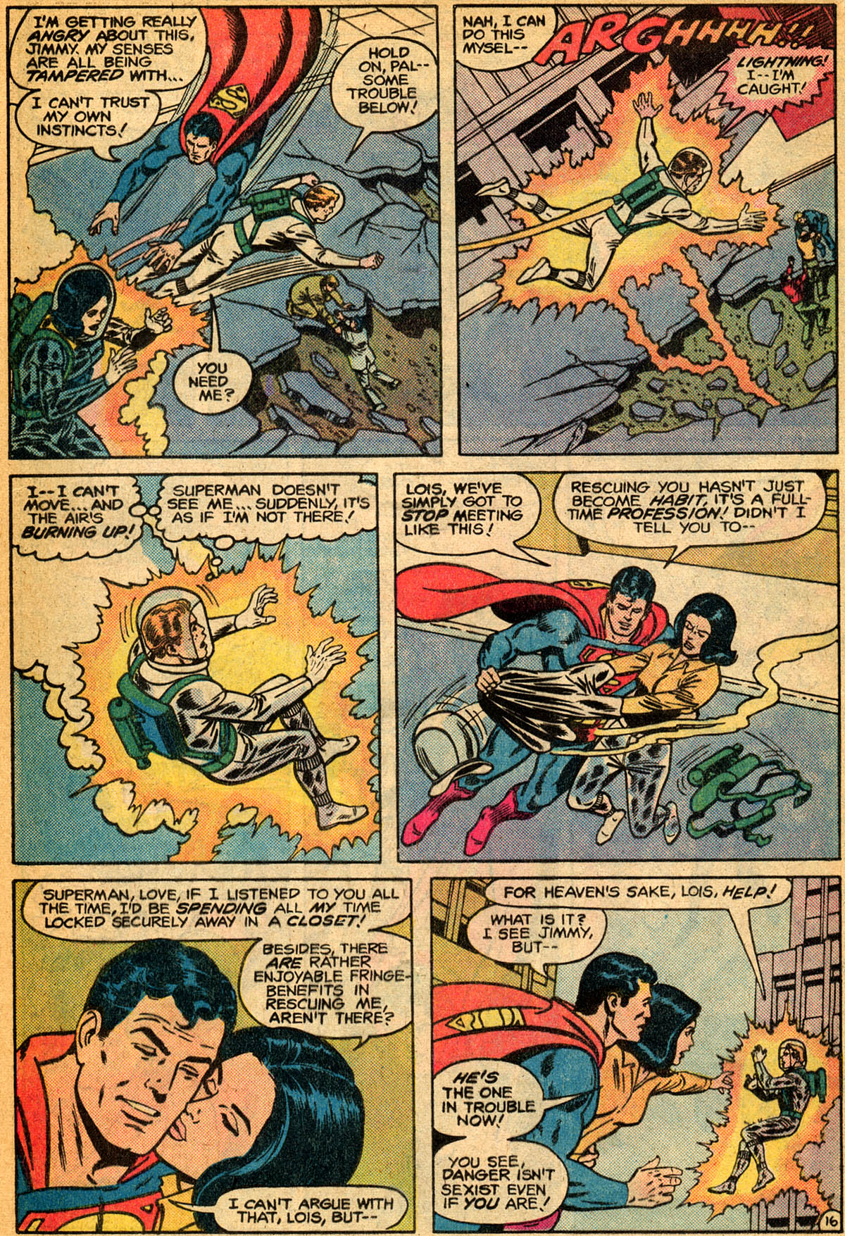 Read online Action Comics (1938) comic -  Issue #529 - 17
