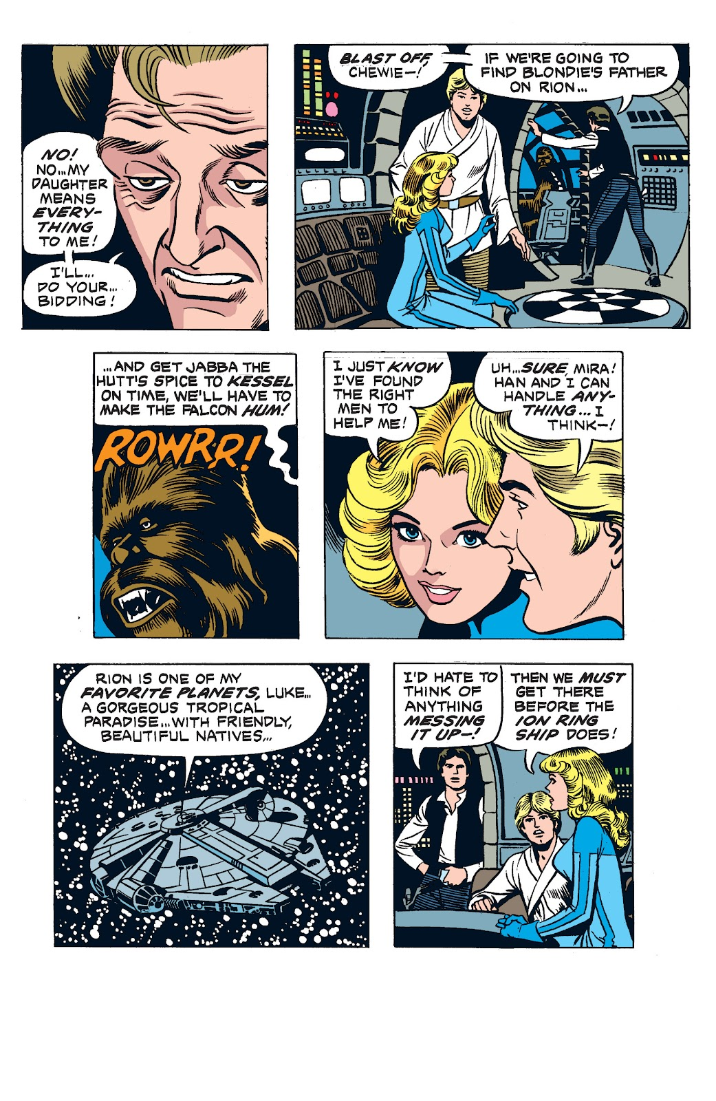 Read online Star Wars Legends: The Newspaper Strips - Epic Collection comic -  Issue # TPB (Part 2) - 82