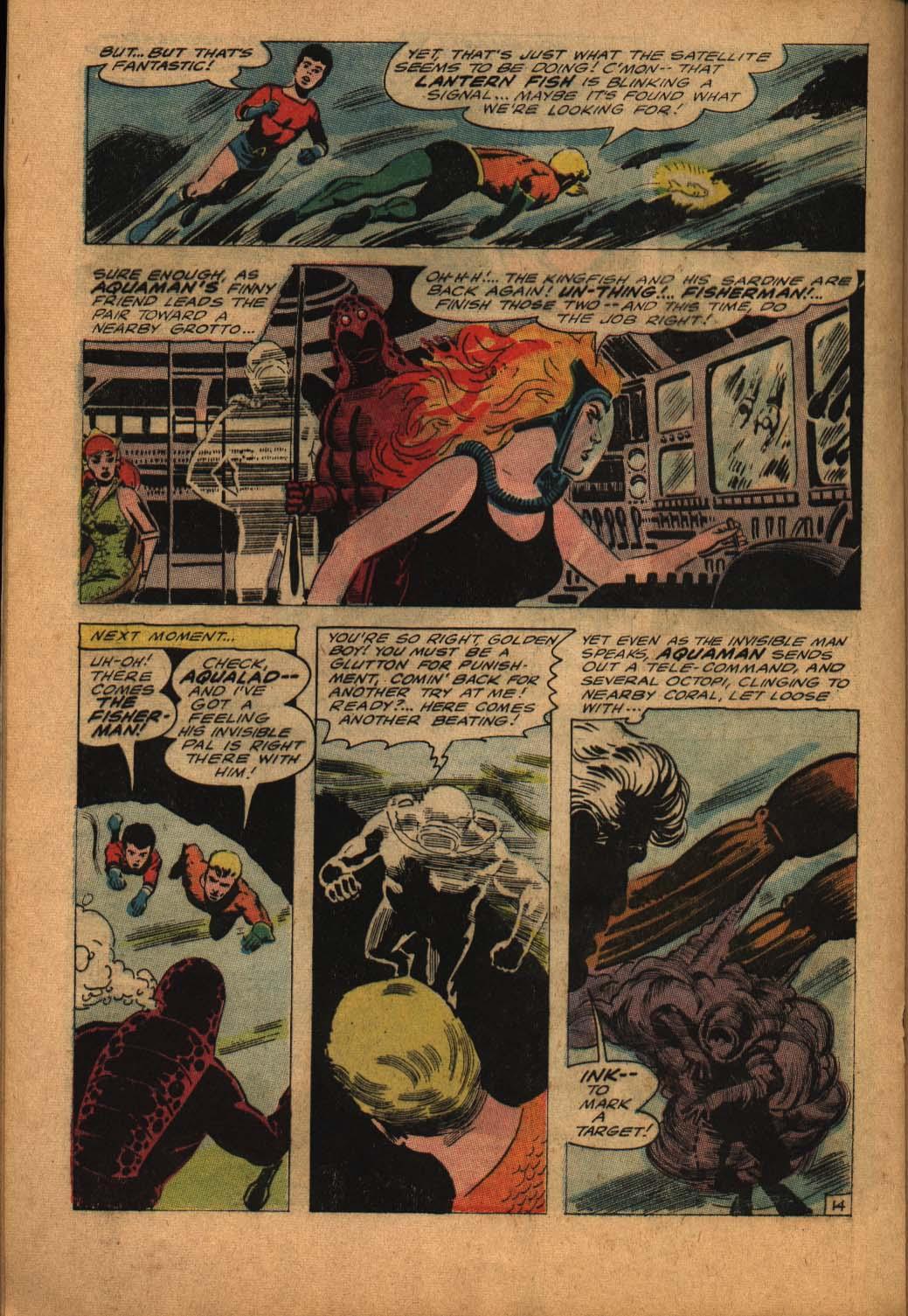Read online Aquaman (1962) comic -  Issue #24 - 20