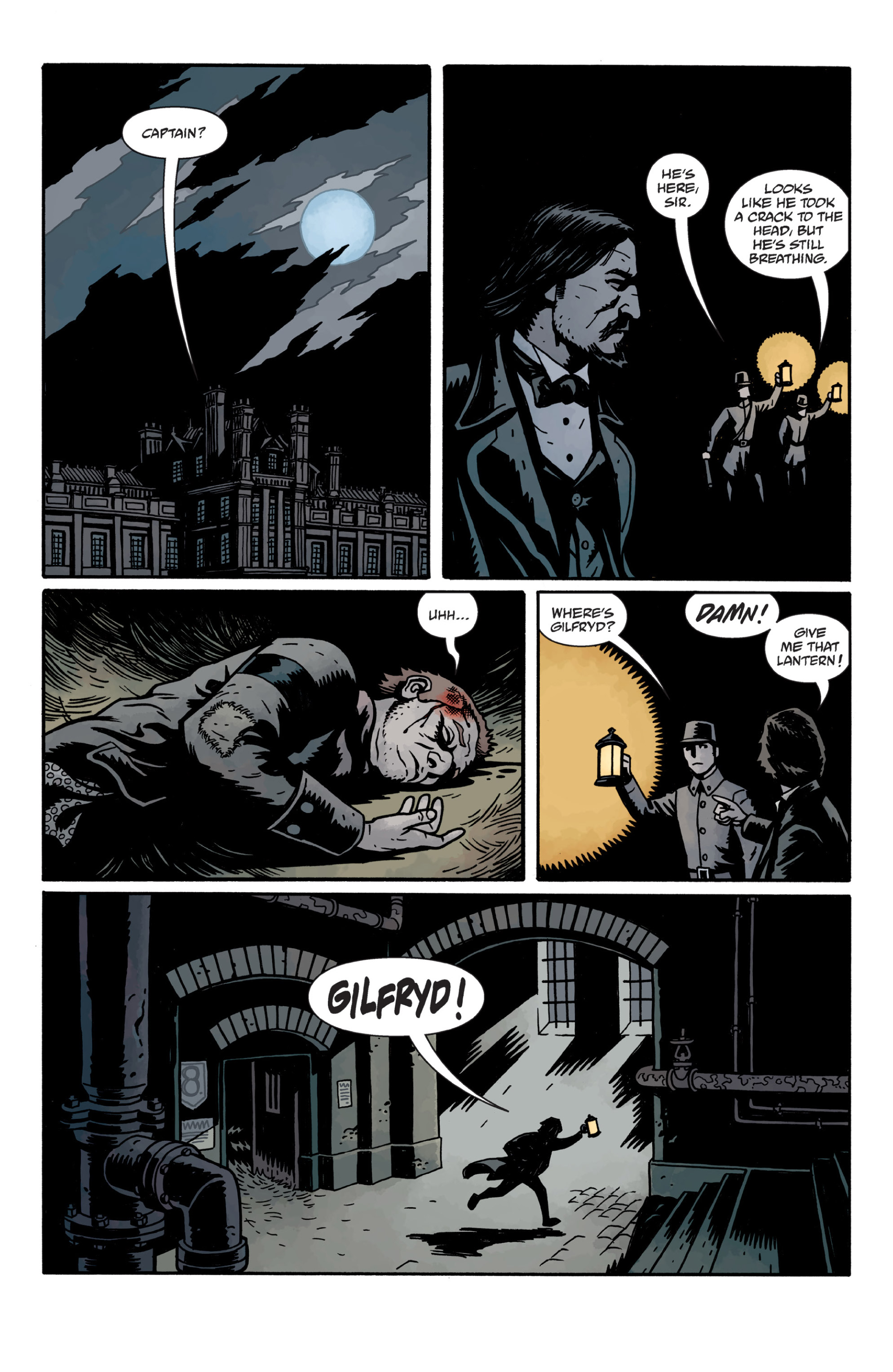 Read online Sir Edward Grey, Witchfinder: In the Service of Angels comic -  Issue # TPB - 114