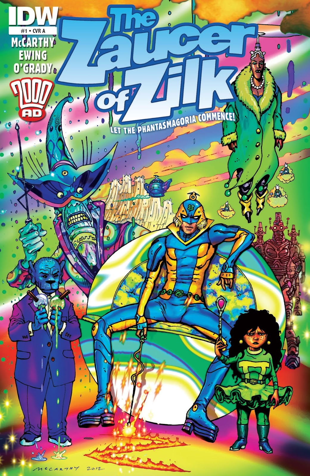 The Zaucer of Zilk 1 Page 1