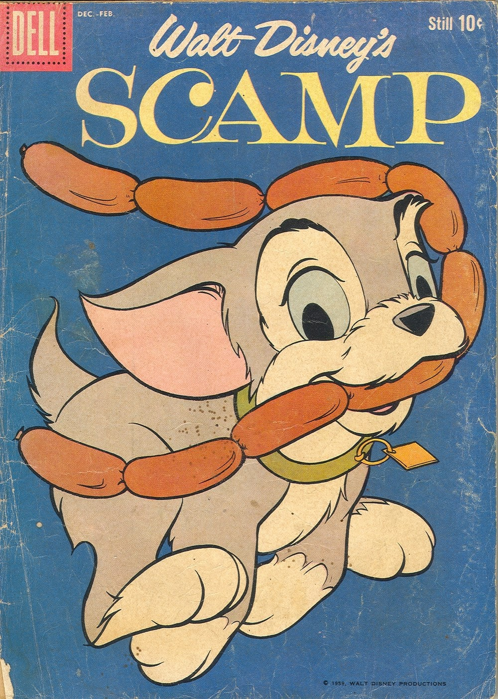 Scamp (1958) 12 Page 1