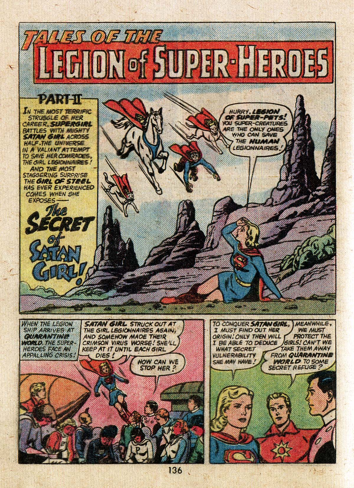 Read online Adventure Comics (1938) comic -  Issue #500 - 136