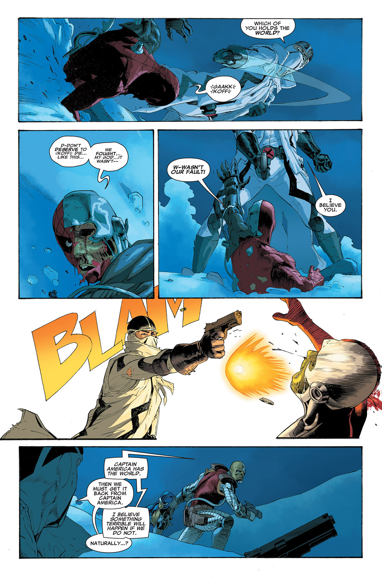 Read online Uncanny X-Force (2010) comic -  Issue #6 - 6