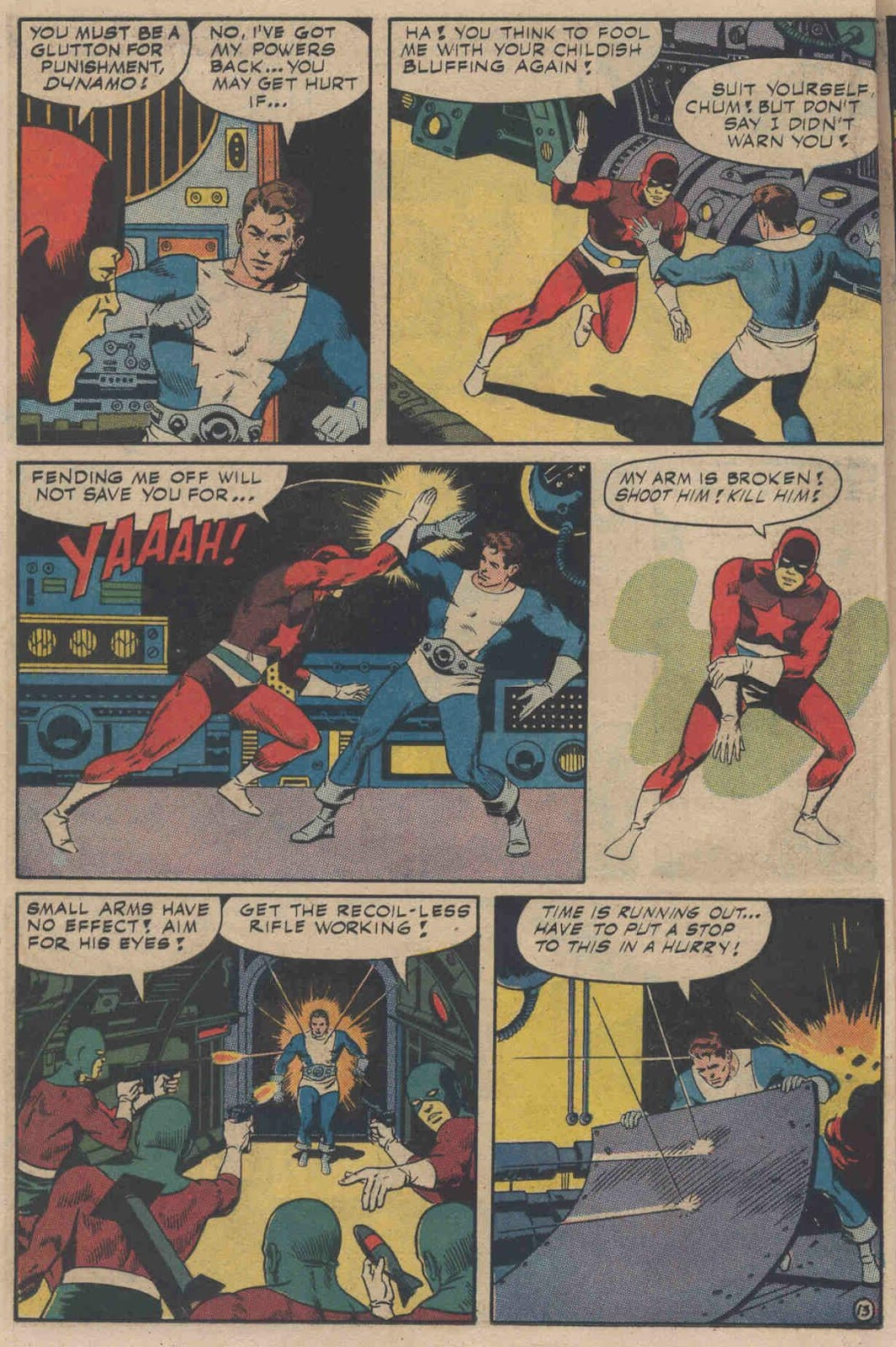 T.H.U.N.D.E.R. Agents (1965) issue 6 - Page 16