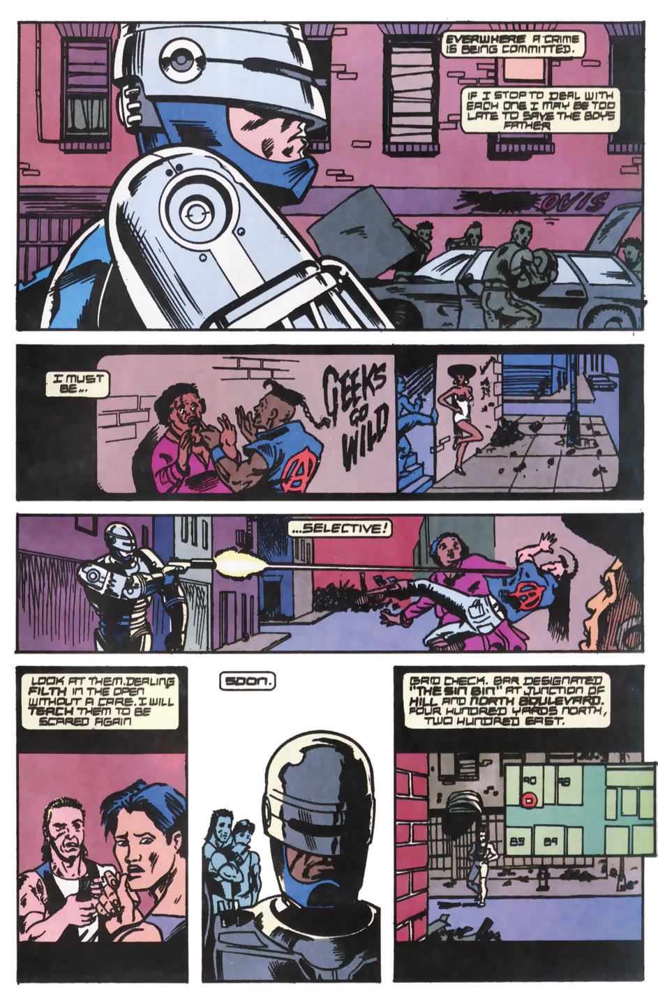 Read online Robocop (1990) comic -  Issue #12 - 15