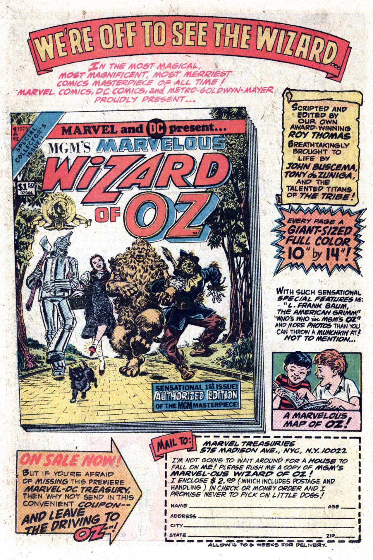 Read online Amazing Adventures (1970) comic -  Issue #33 - 21