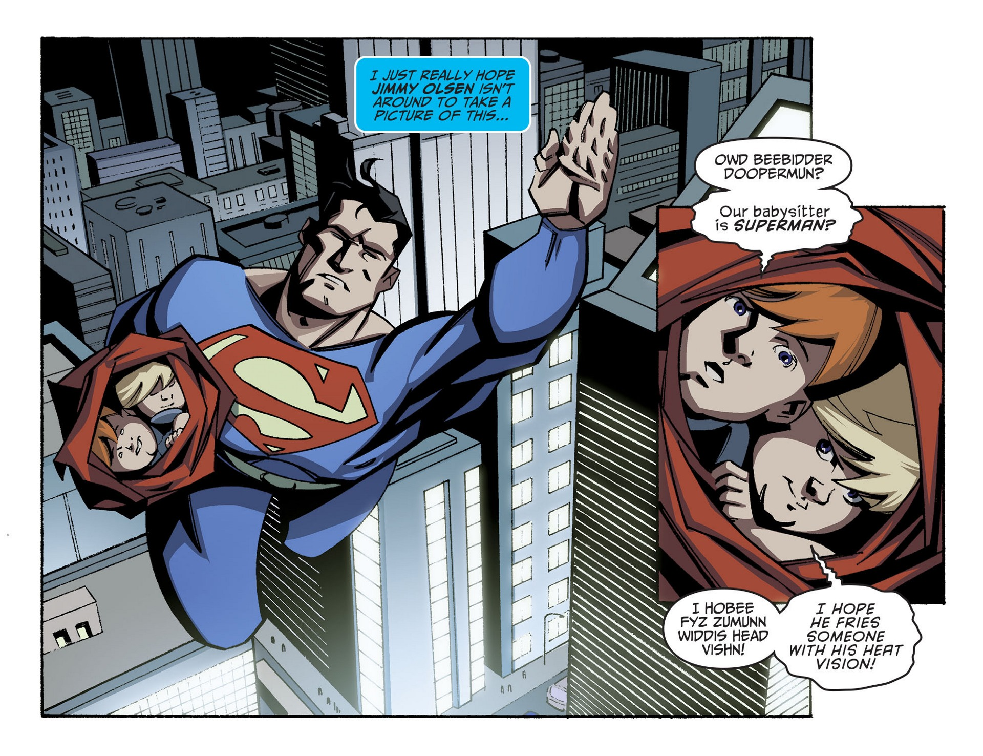 Read online Adventures of Superman [I] comic -  Issue #42 - 12